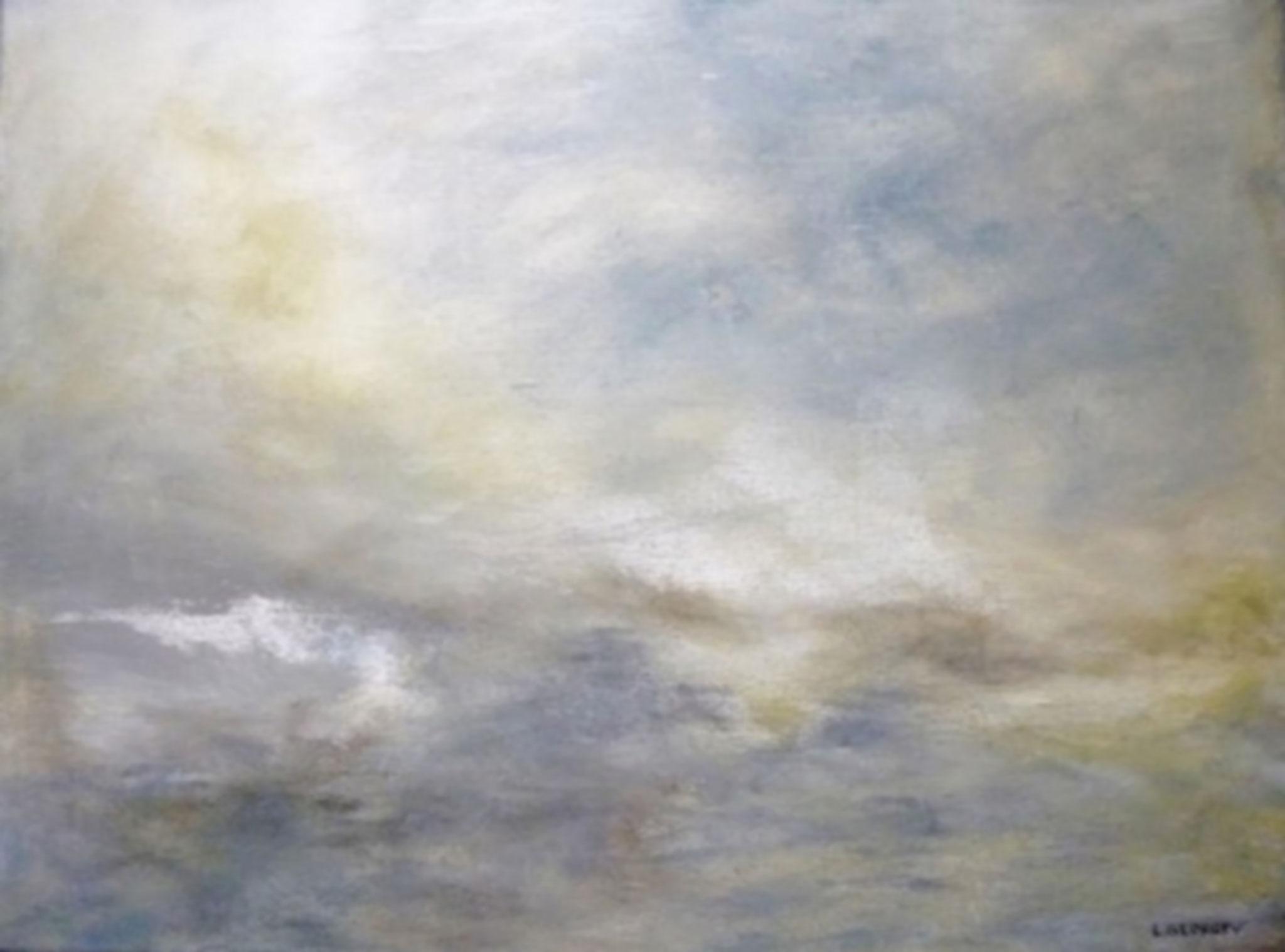 CIEUX, acrylique sur toile, 46x61 cm