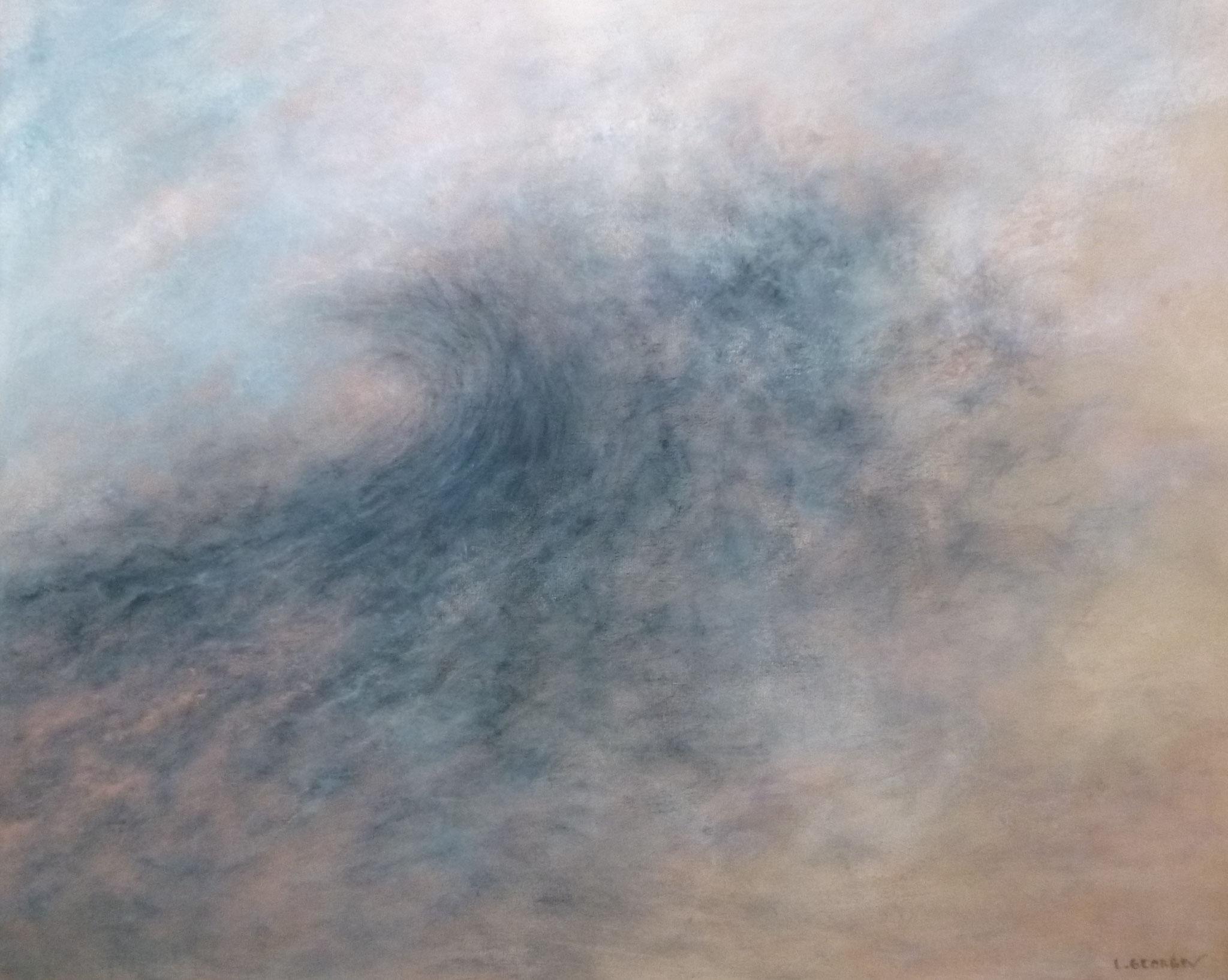 EFFERVESCENCE, acrylique sur toile, 50x60 cm