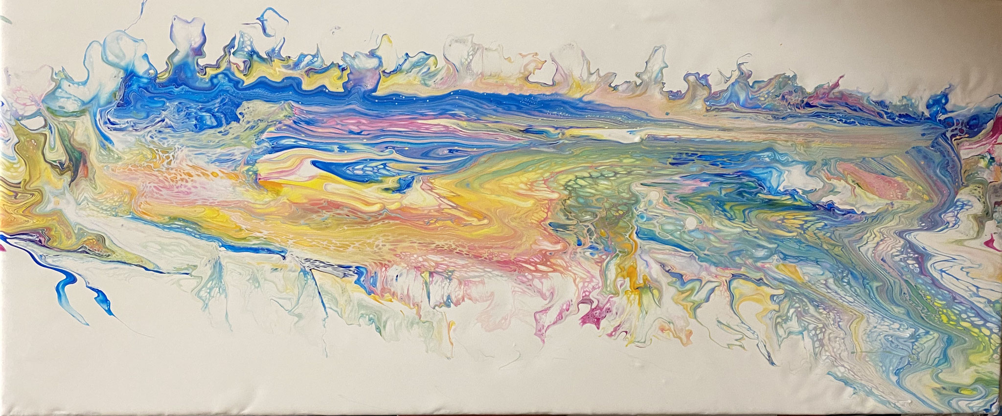 NR.6 Streched Canvas Rainbow