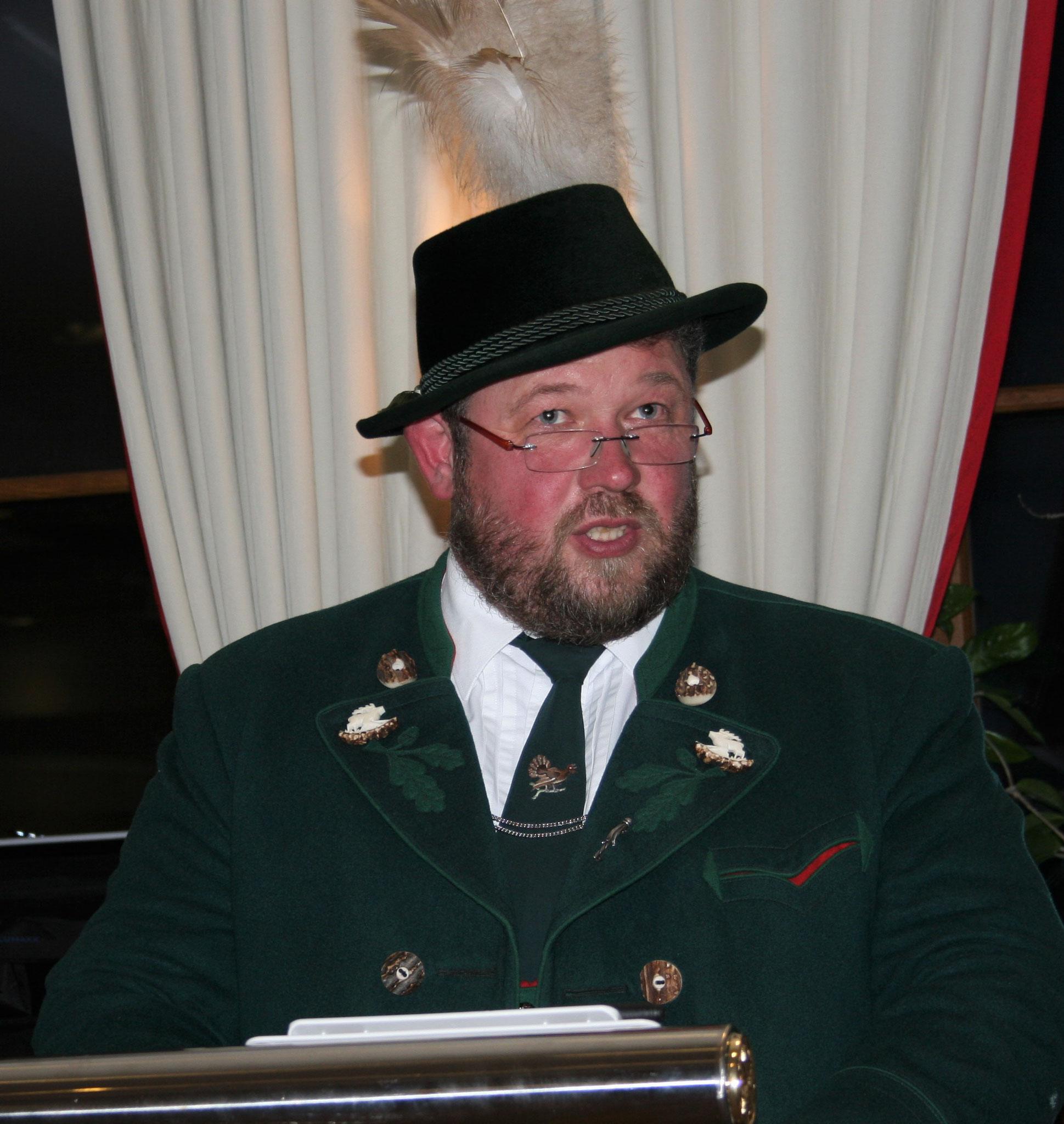 Kurt Gastager (2.Vorstand, Festleiter)