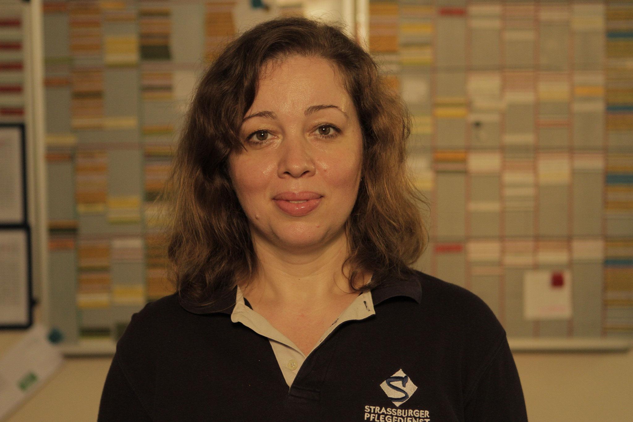 Ramona Dobre- Bujorea, Gesundheitspflegeassistentin