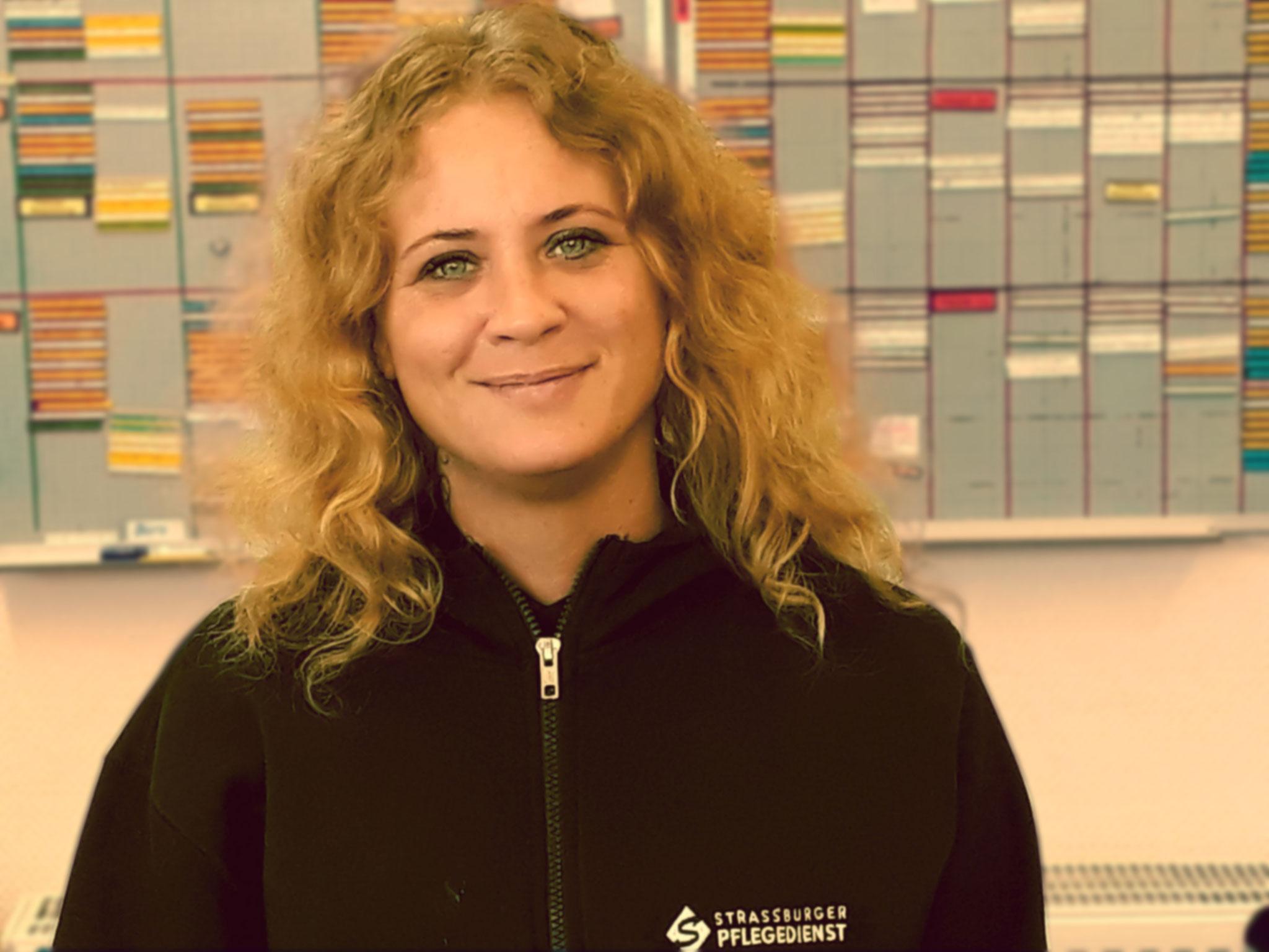 Nadine Schulz, ang. Pflegekraft