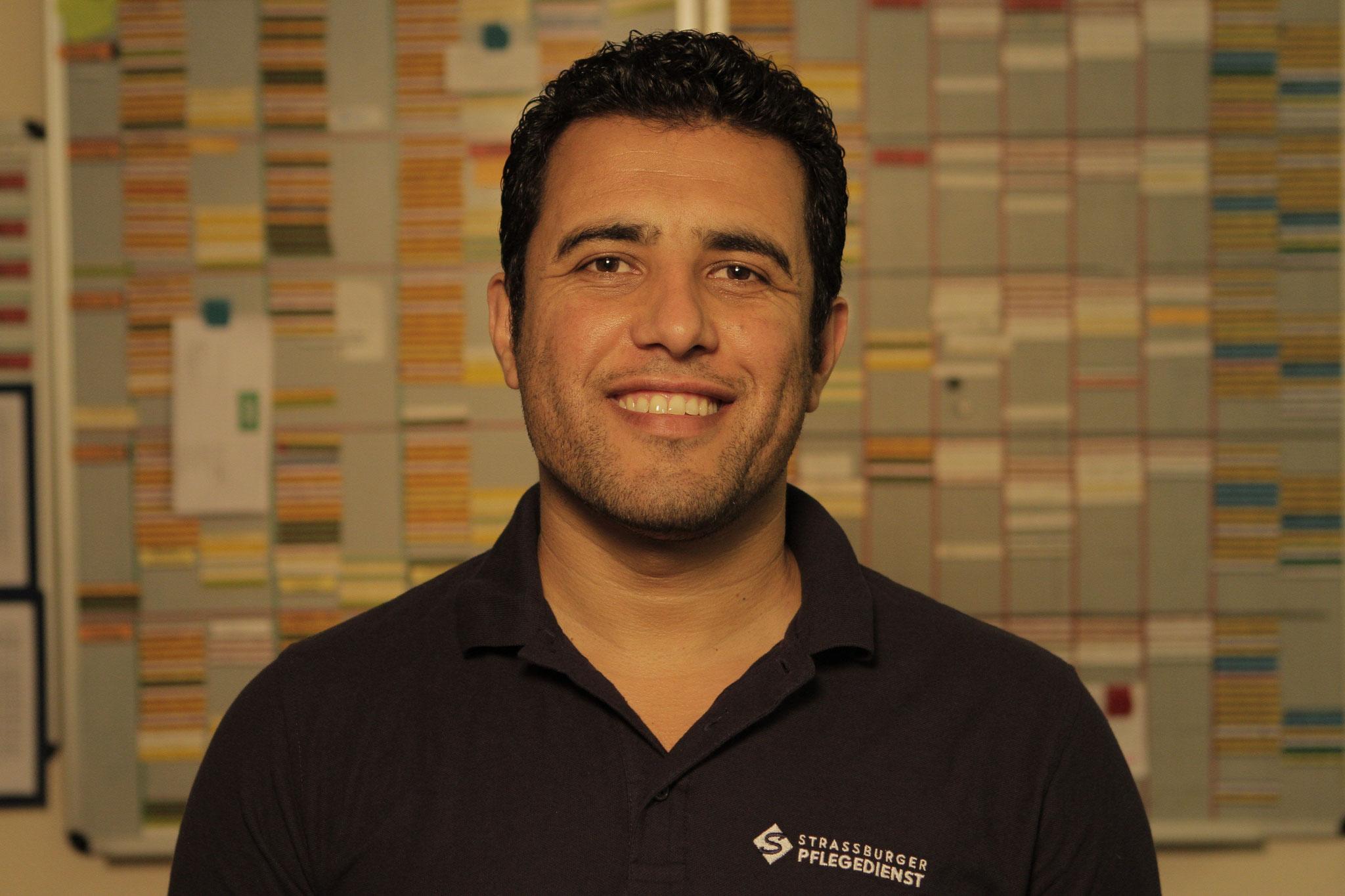 Bassir Ahmad Barekzai , exam. Altenpfleger