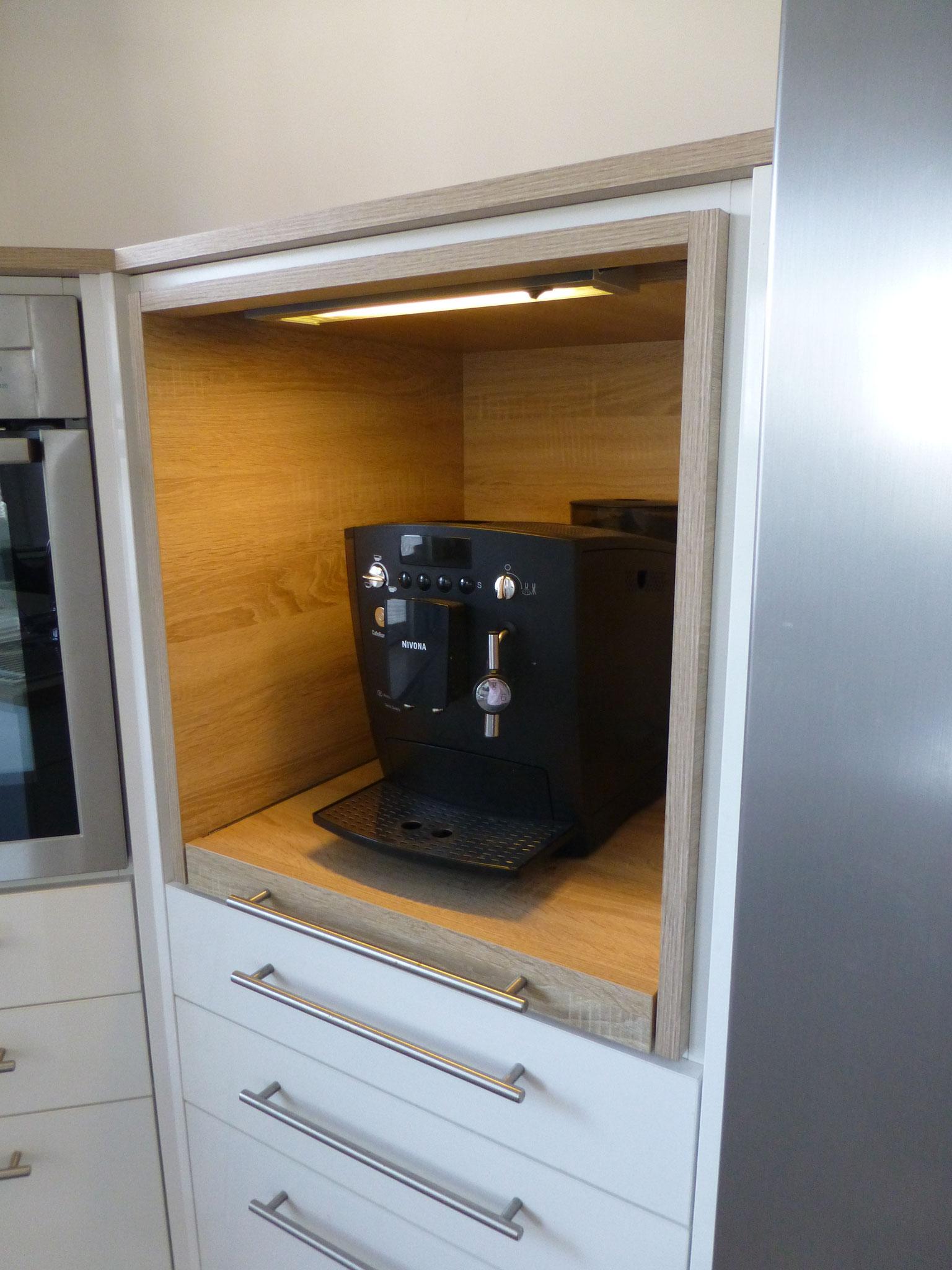 Kaffeeautomaten-Auszug