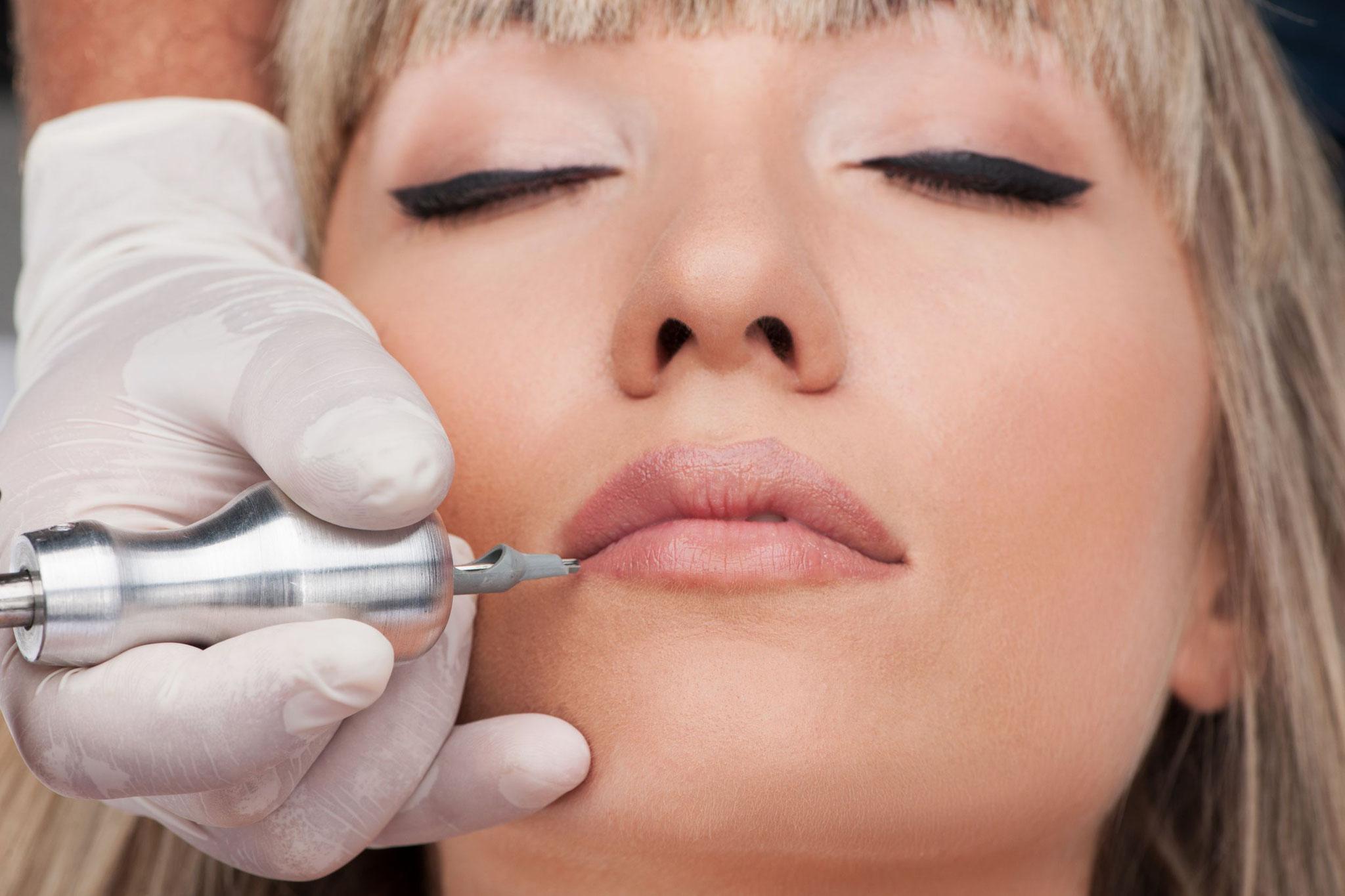 Permanent Make-Up - Lippenkorrektur