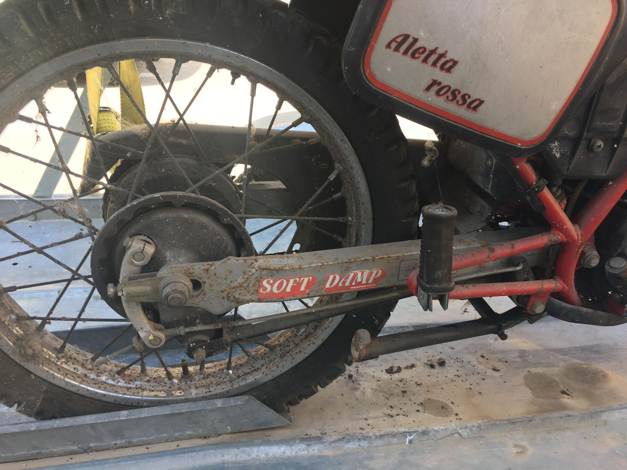 CAGIVA 125 ALETTA ROSSA PER RICAMBI