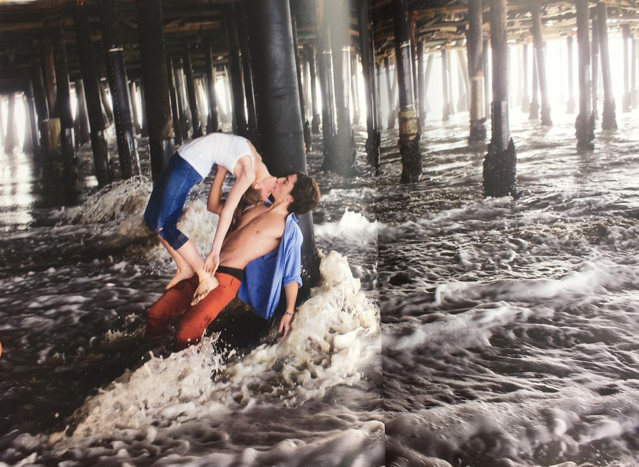 """""""Unter dem Steg"""", mit Jill Wilson und Jacob Jonas, Santa Monica/ Kalifornien"""