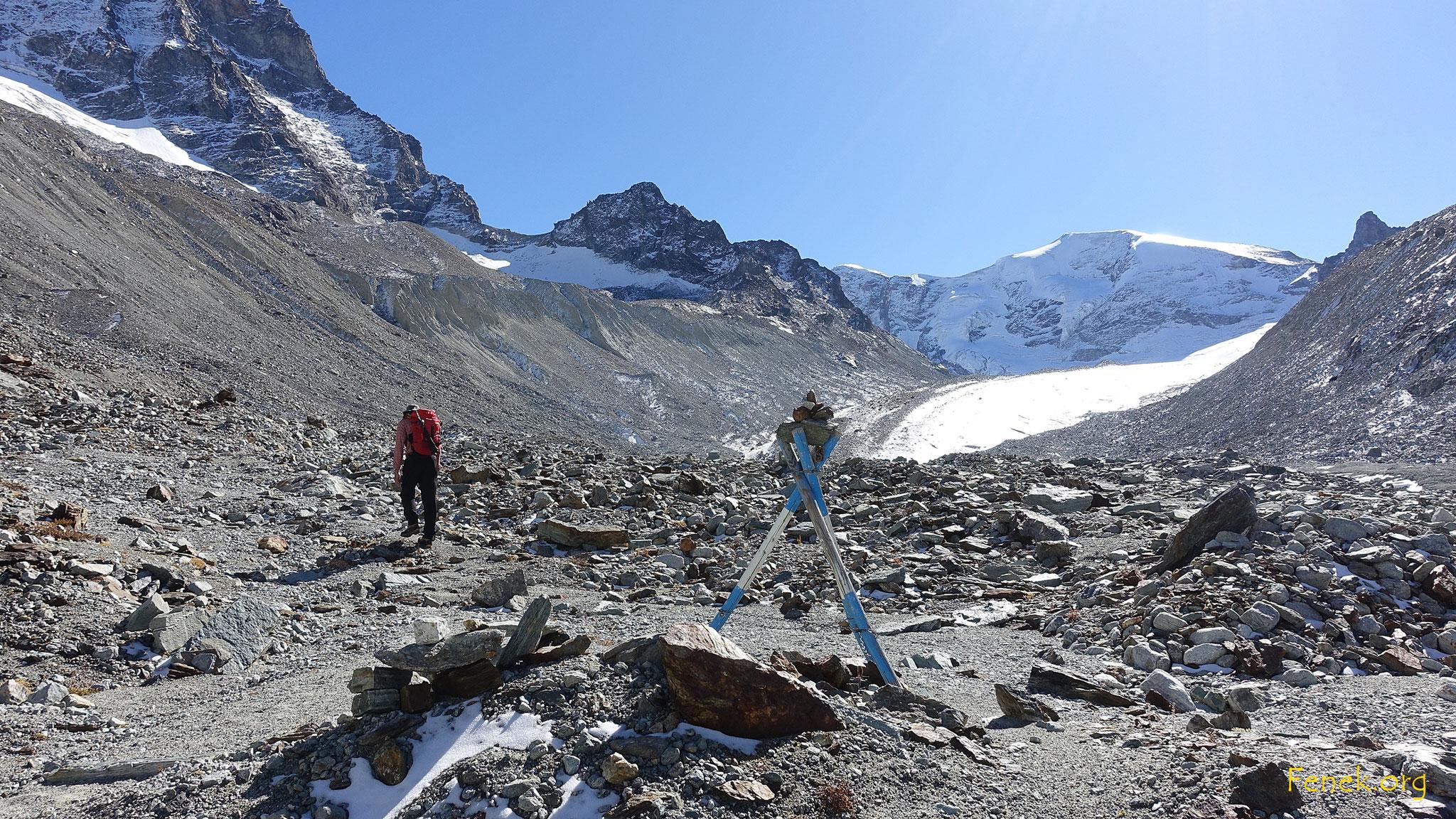 Gletschervorfeld - wie immer geröllig