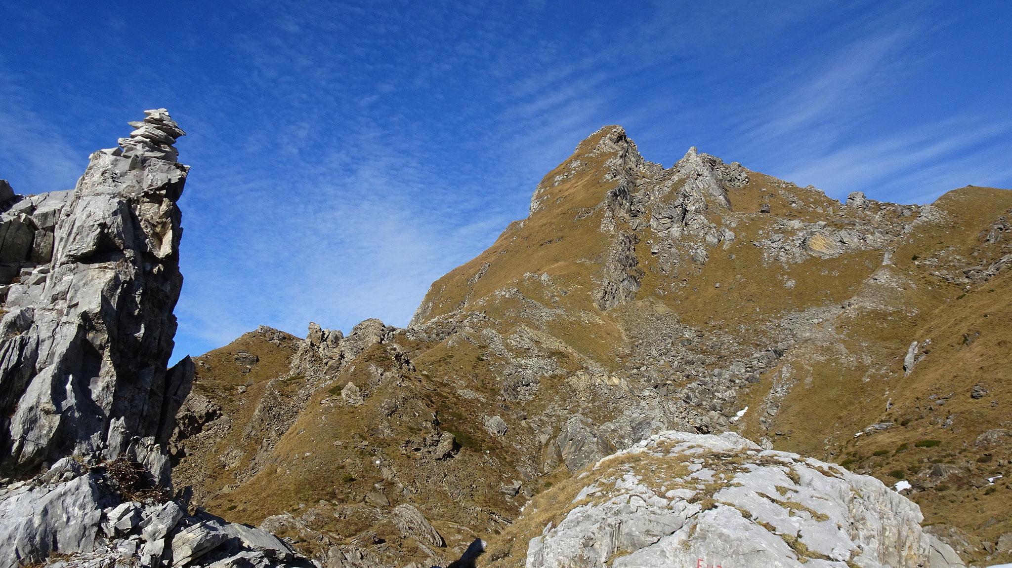 Steilgras - Pointe Savolaires - ein Adrenalin Schub