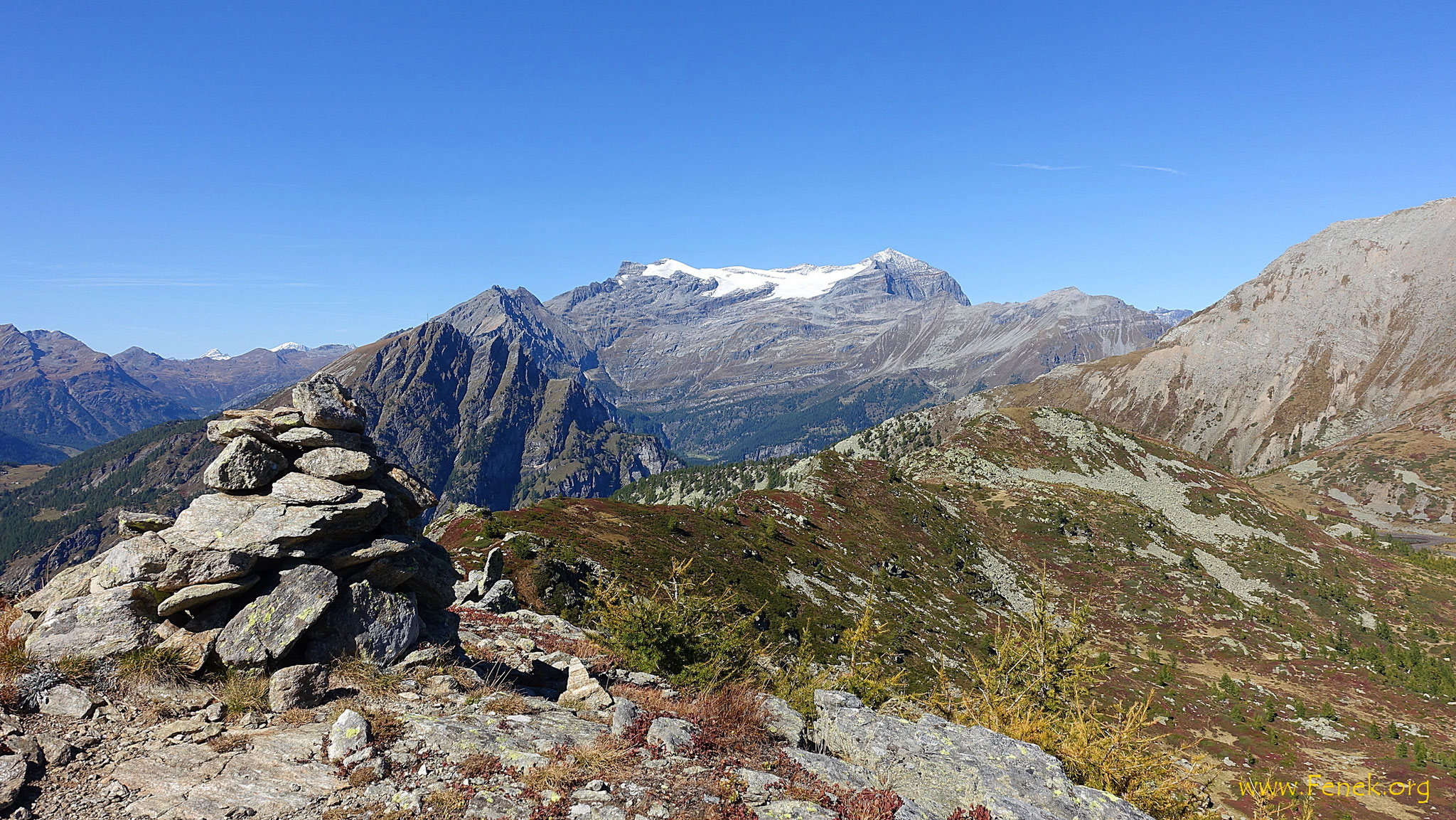 Simplon Breithorn und Monte Leone