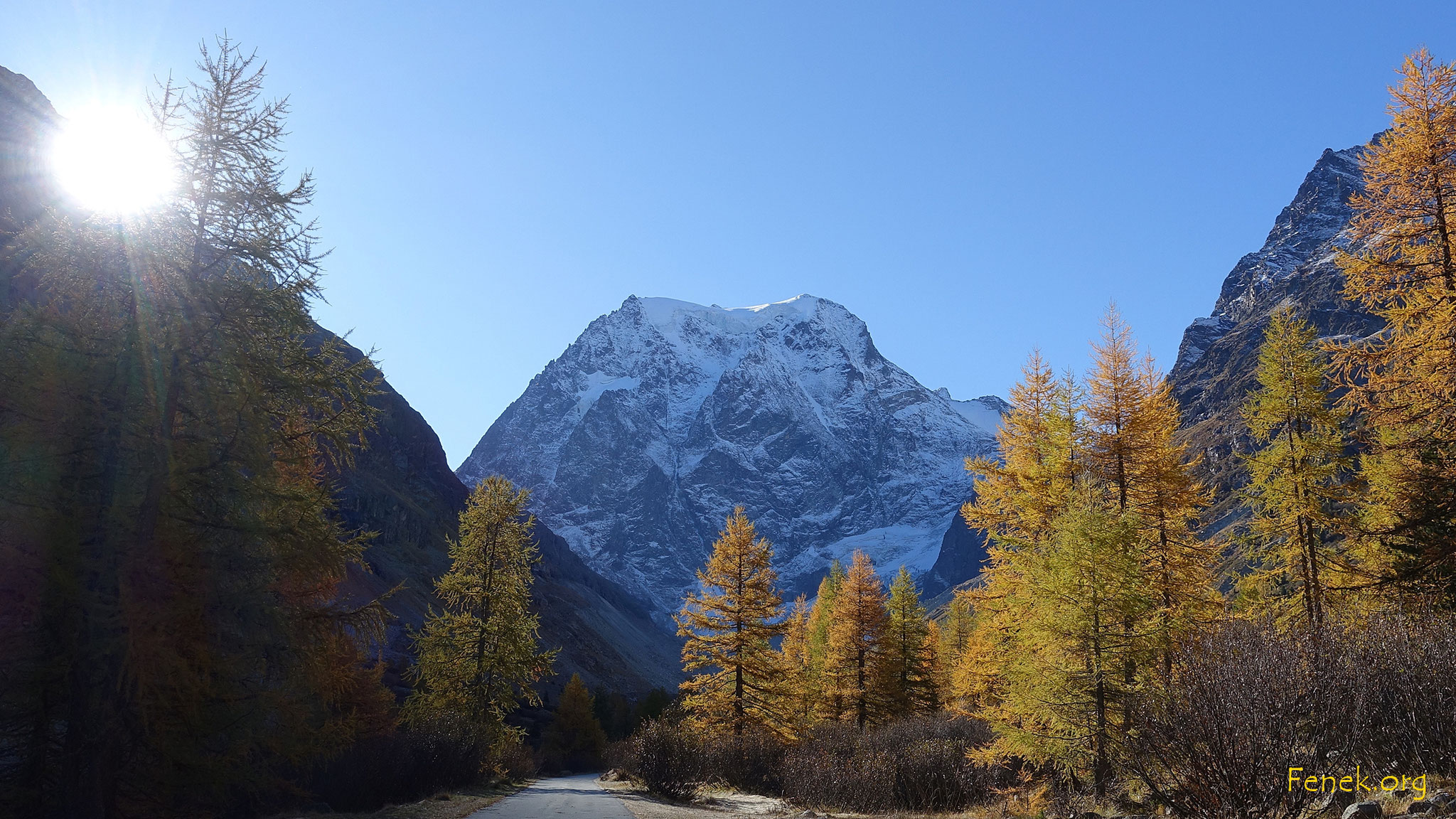 Mont Collon - Wahrzeichen von Arolla