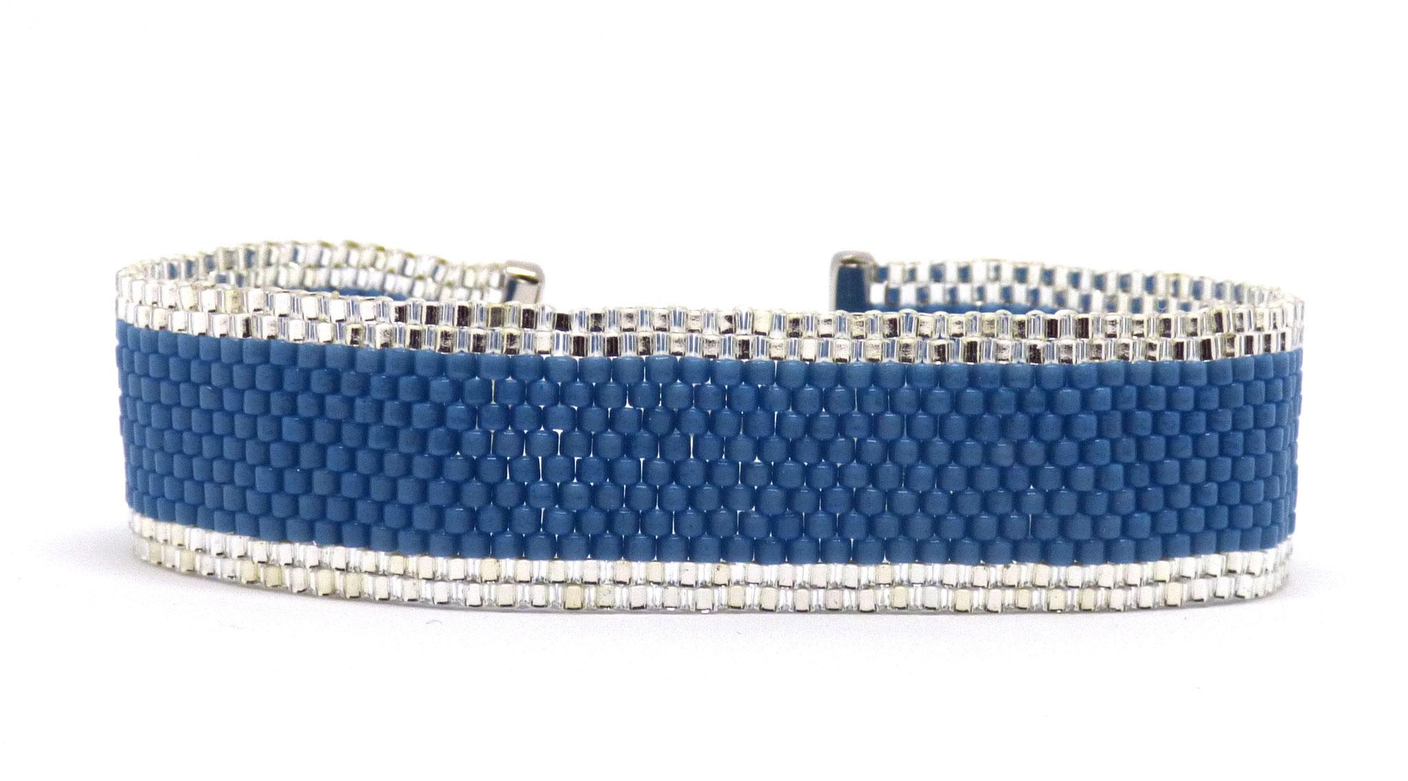 Manchette fine en perles