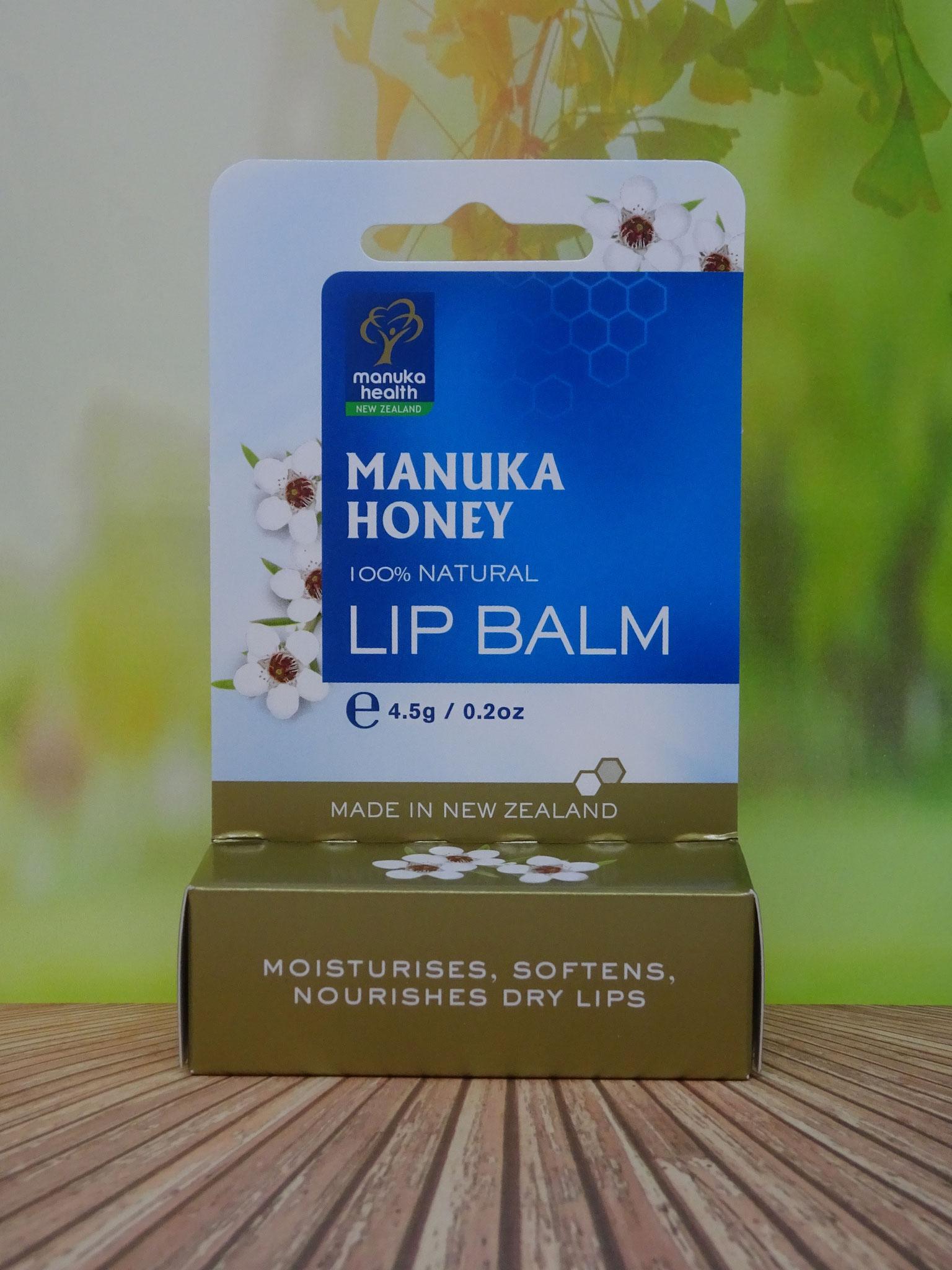 Manuka Honig Lippenbalsam (Manuka Health New Zealand)