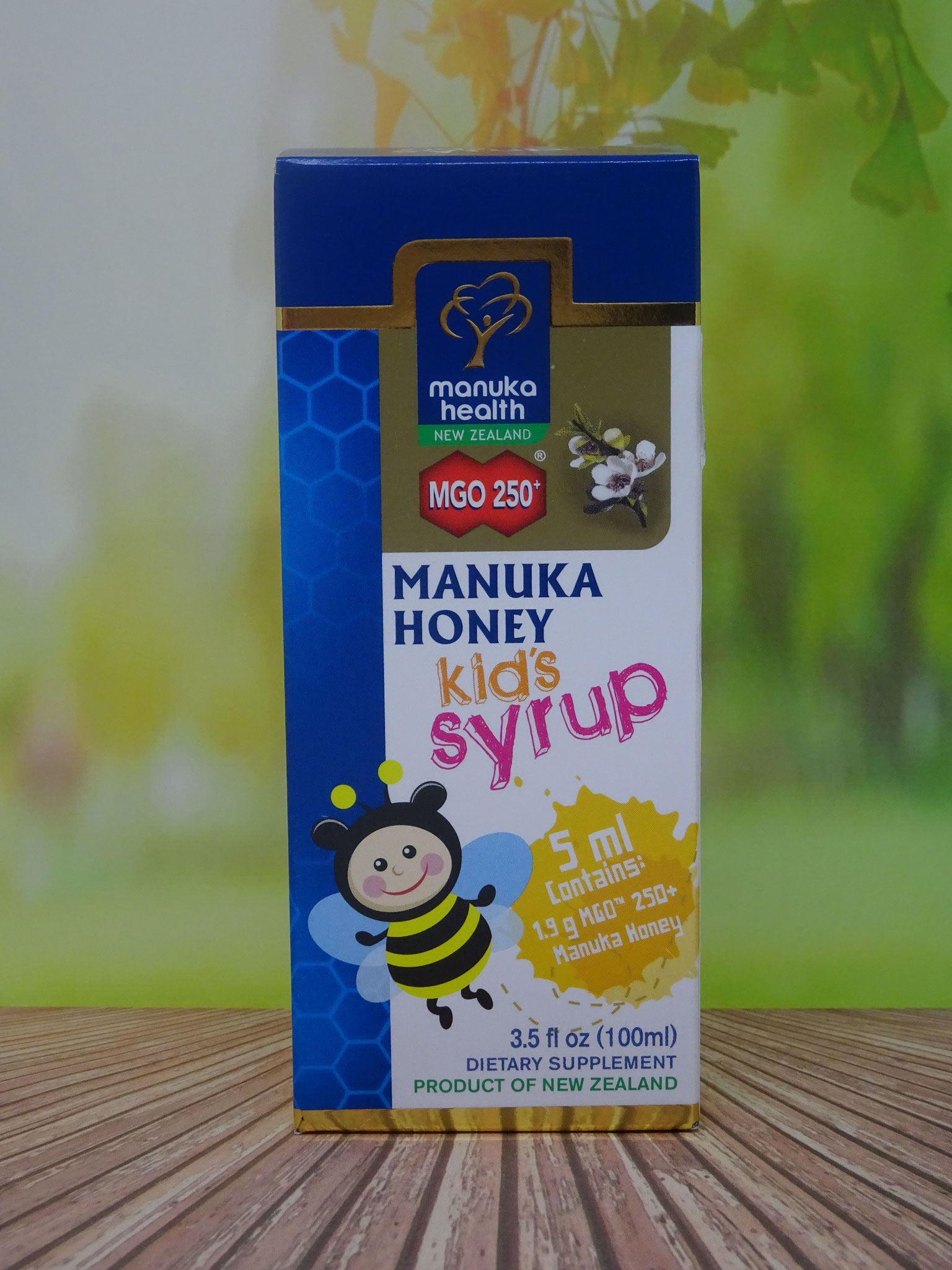 Manuka Honig Sirup Kids Syrup  MGO 250 100 ml (Manuka Health New Zealand)