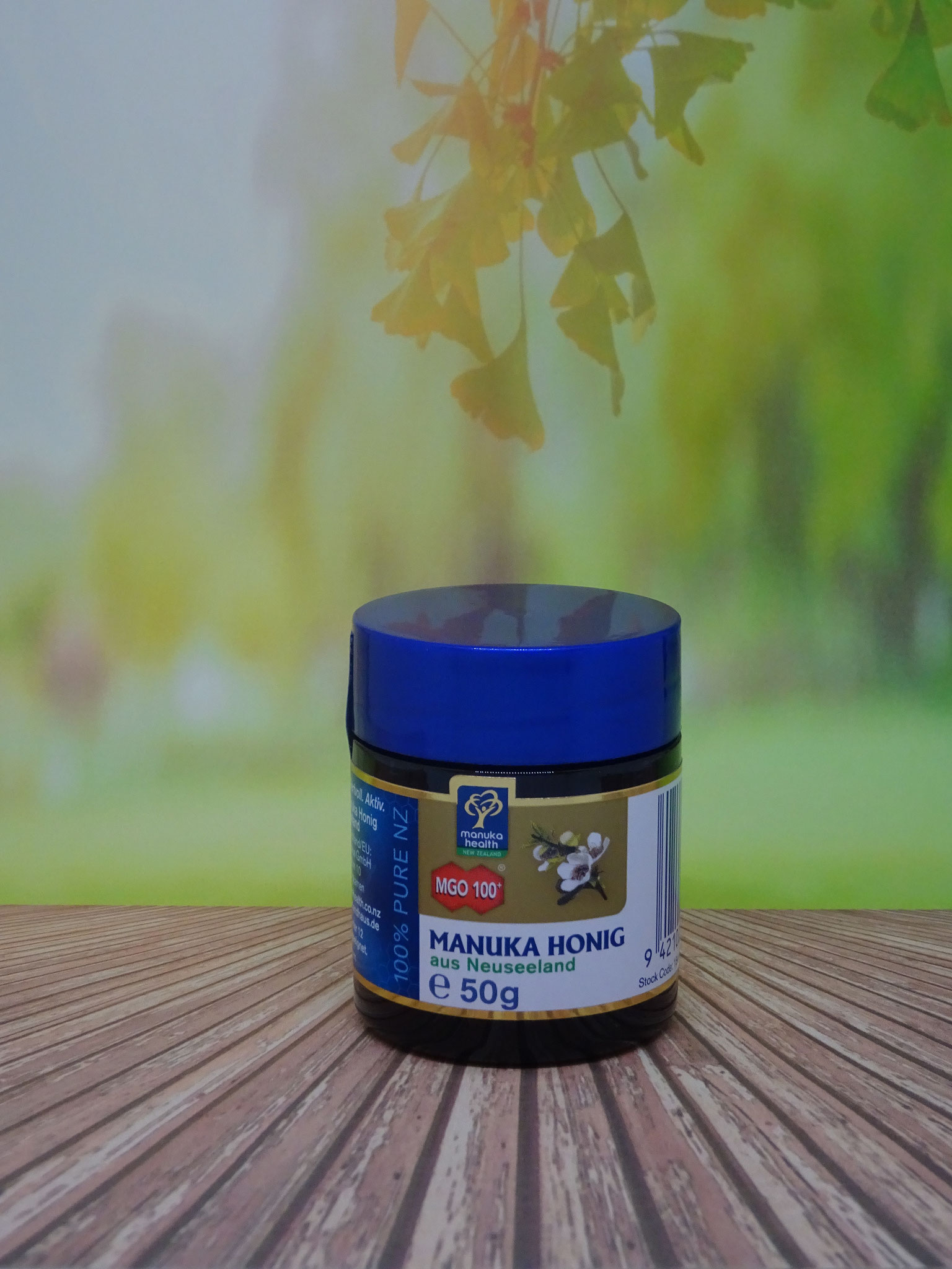Manuka Honig MGO 100 50g (Manuka Health New Zealand)