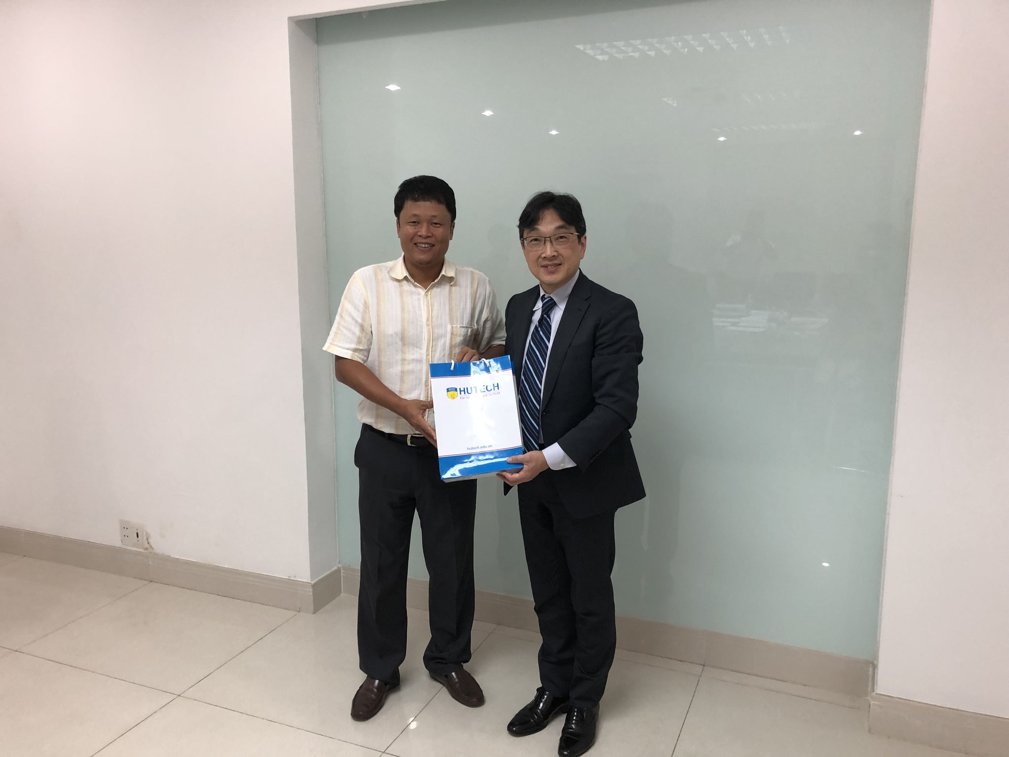 HUTECH UNIVERSITY OF TECHNOLOGY's Director Dr. KIEU XUAN HUNG