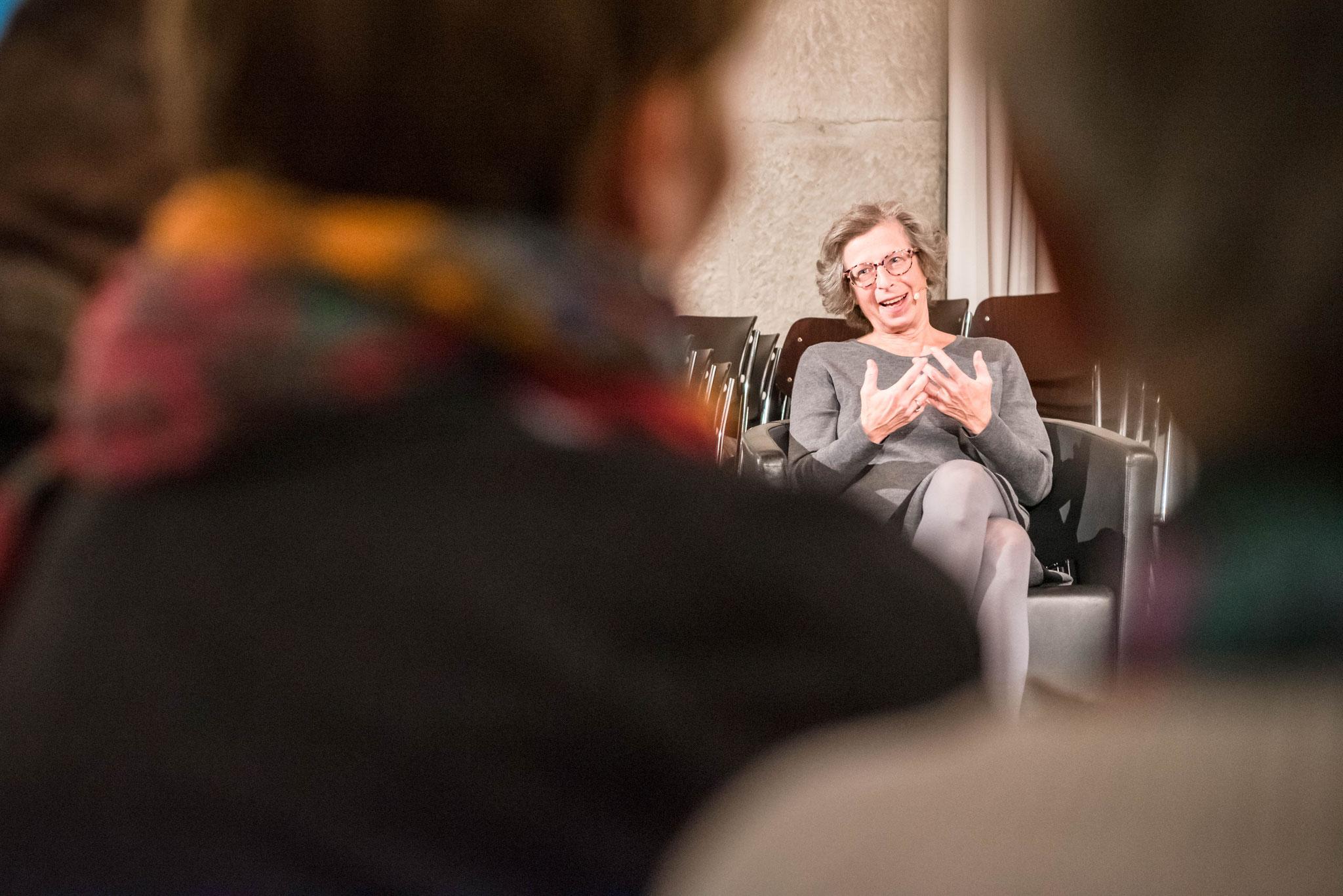 Sabine Simkhovitch-Dreyfus (Vizepräsidentin des Schweizerischen Israelitischen Gemeindebundes)