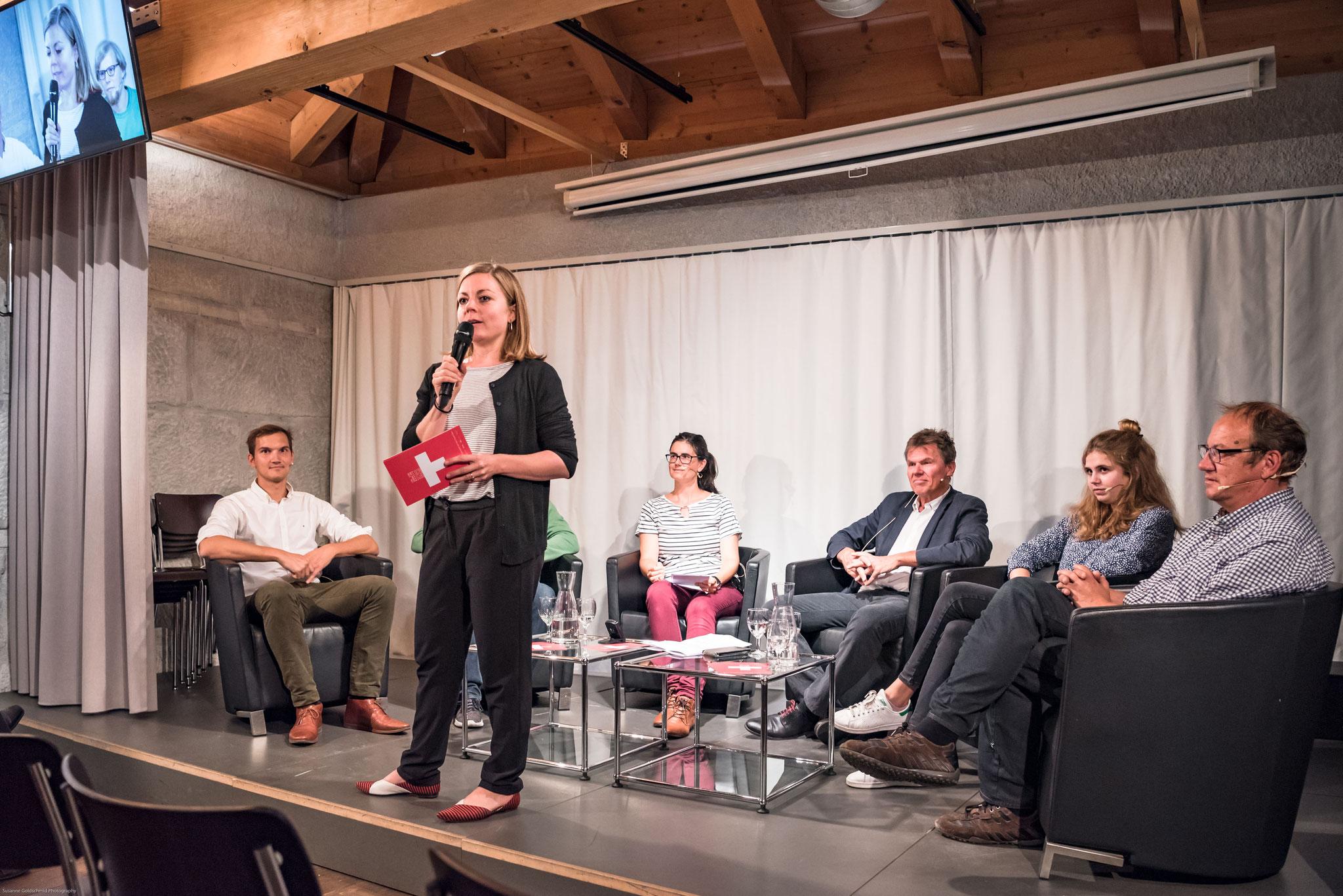 Stefanie Schüpbach (Stellvertretende Geschäftsführerin Polit-Forum Bern)