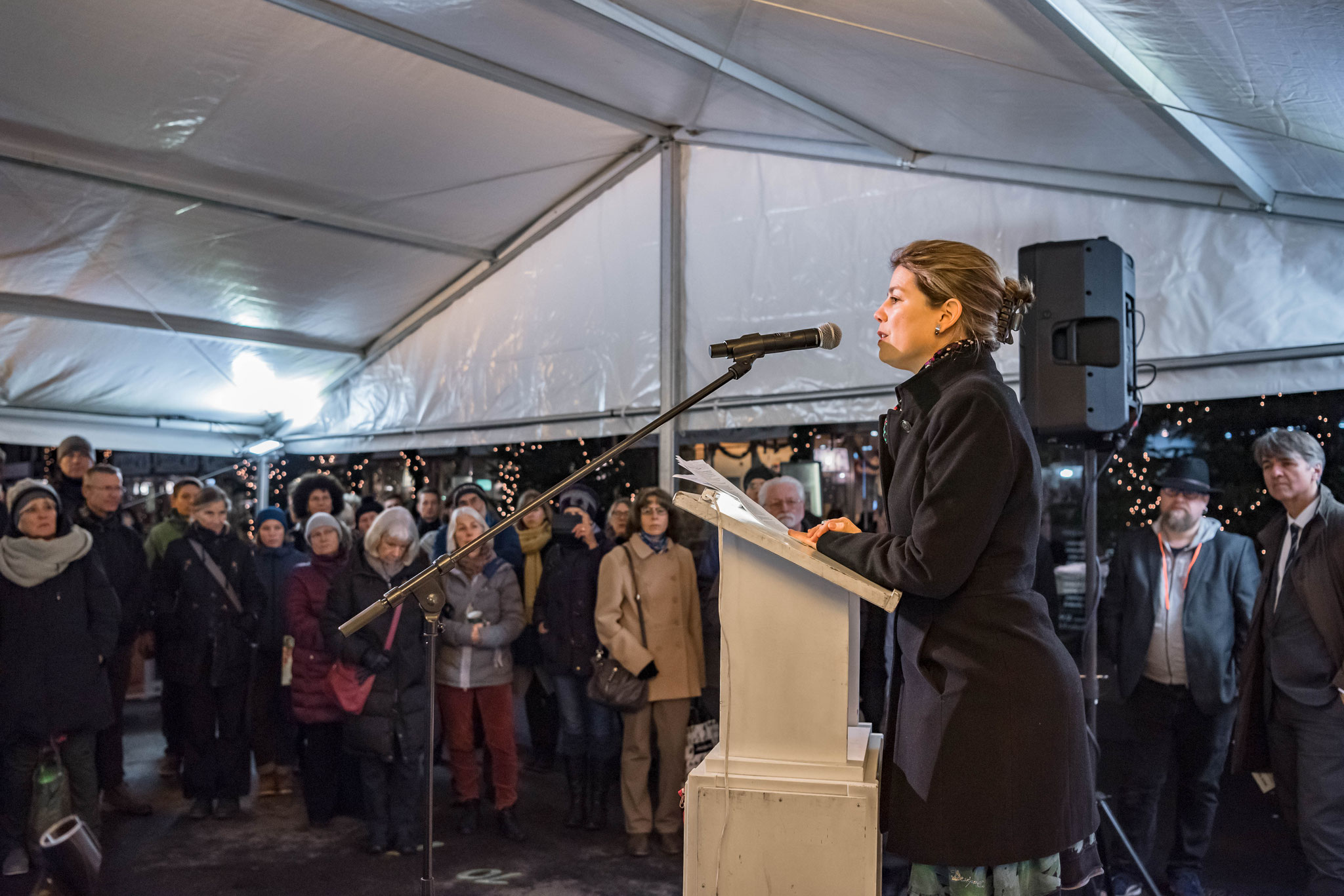 Manon Schick (Geschäftsleiterin Amnesty International)