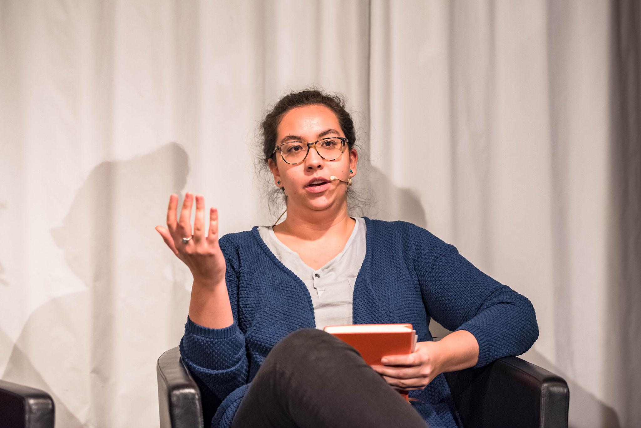 Aina Waeber (Jugendmitglied vom Vorstand von Amnesty International Schweiz)