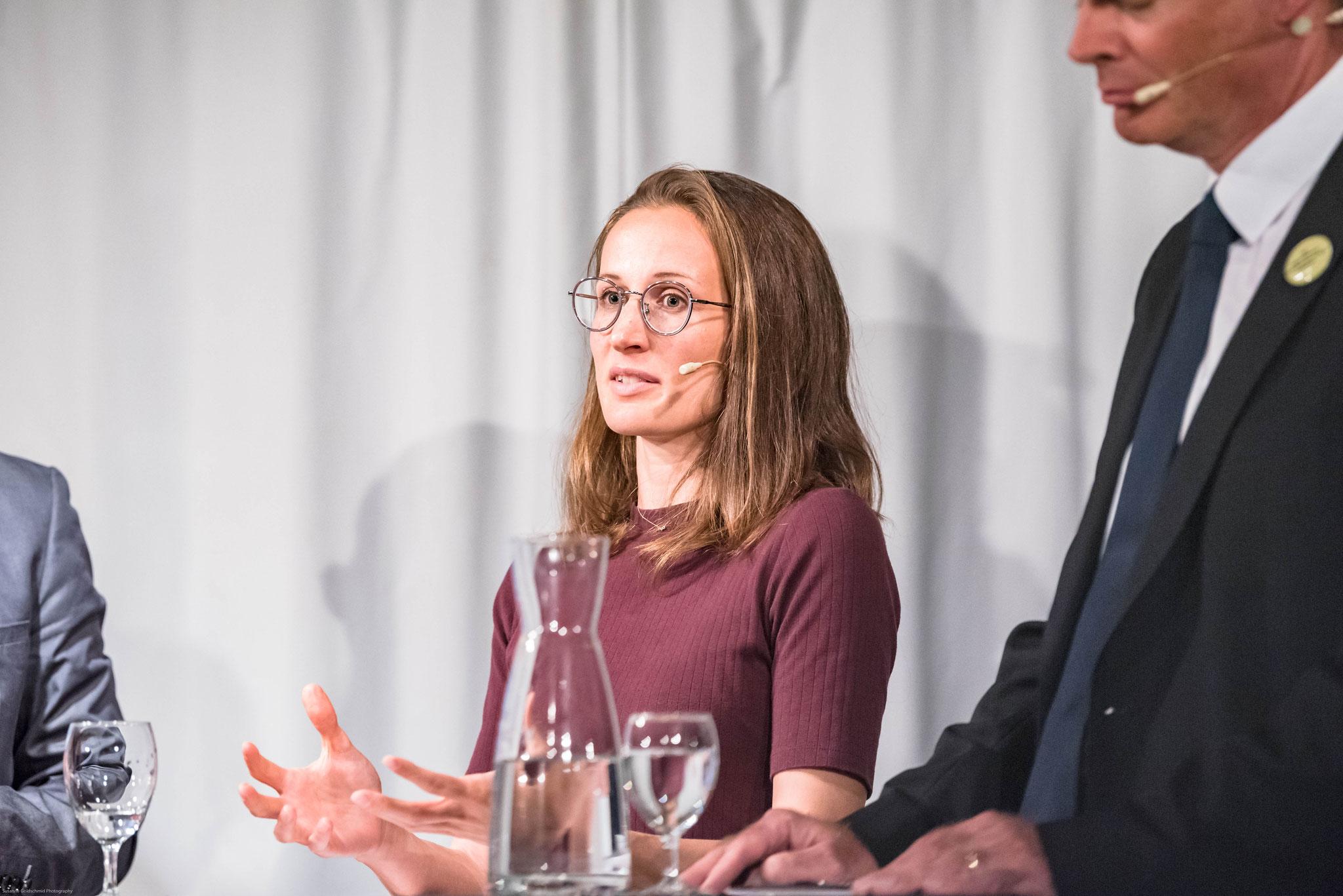 Franziska Barmettler (Co-Kampagnenleiterin gegen die Selbstbestimmungsinitiative, Operation Libero)