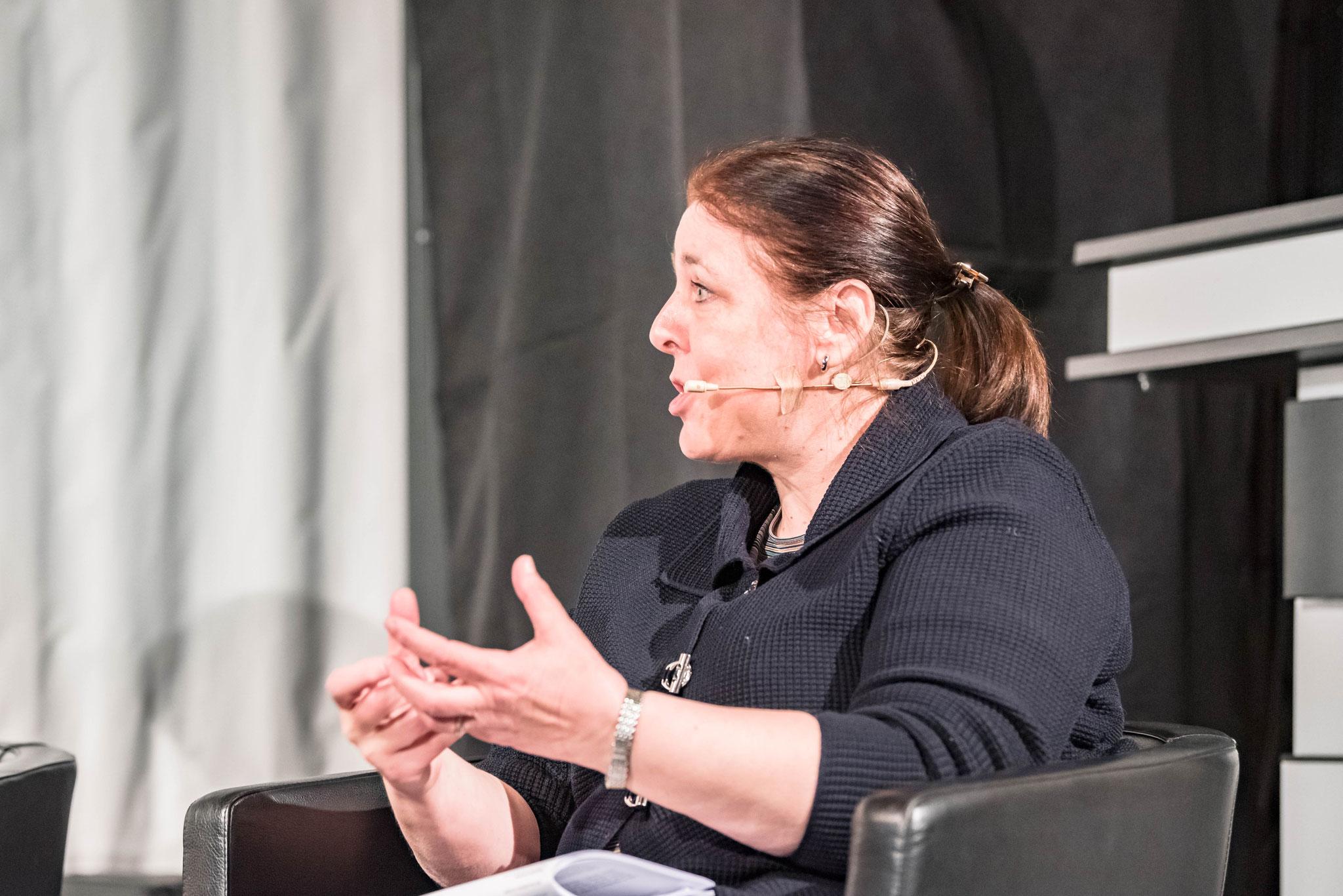 Silvia Mitteregger (Fondation ch pour la collaboration confédérale)