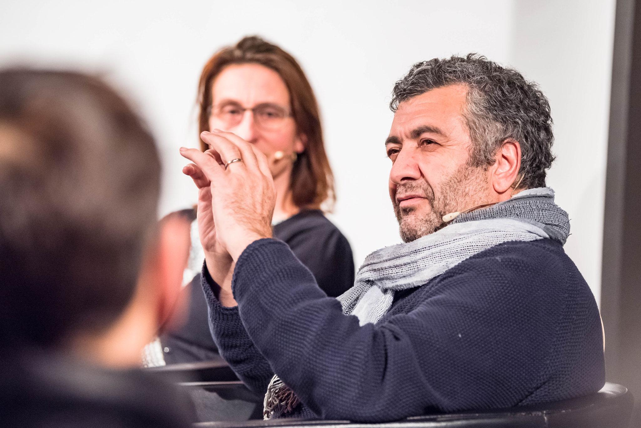 Mano Khalil (réalisateur et ancien réfugié)