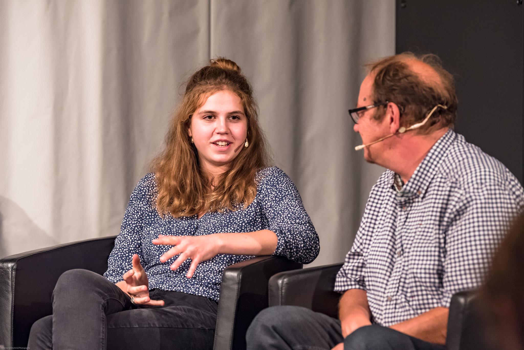 Paula Zysset (coprésidente du parlement des jeunes de la Ville de Berne)