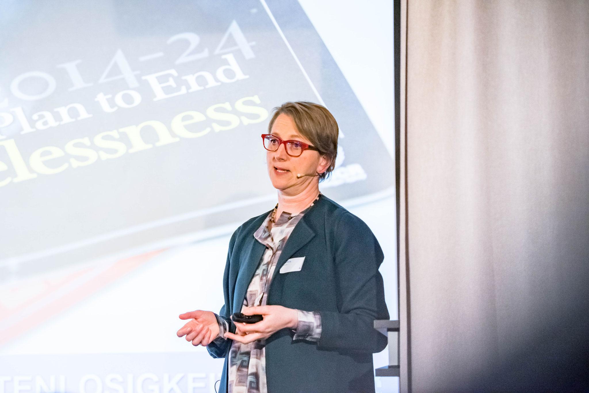 Anja Klug (directrice du bureau du HCR pour la Suisse et le Liechtenstein)