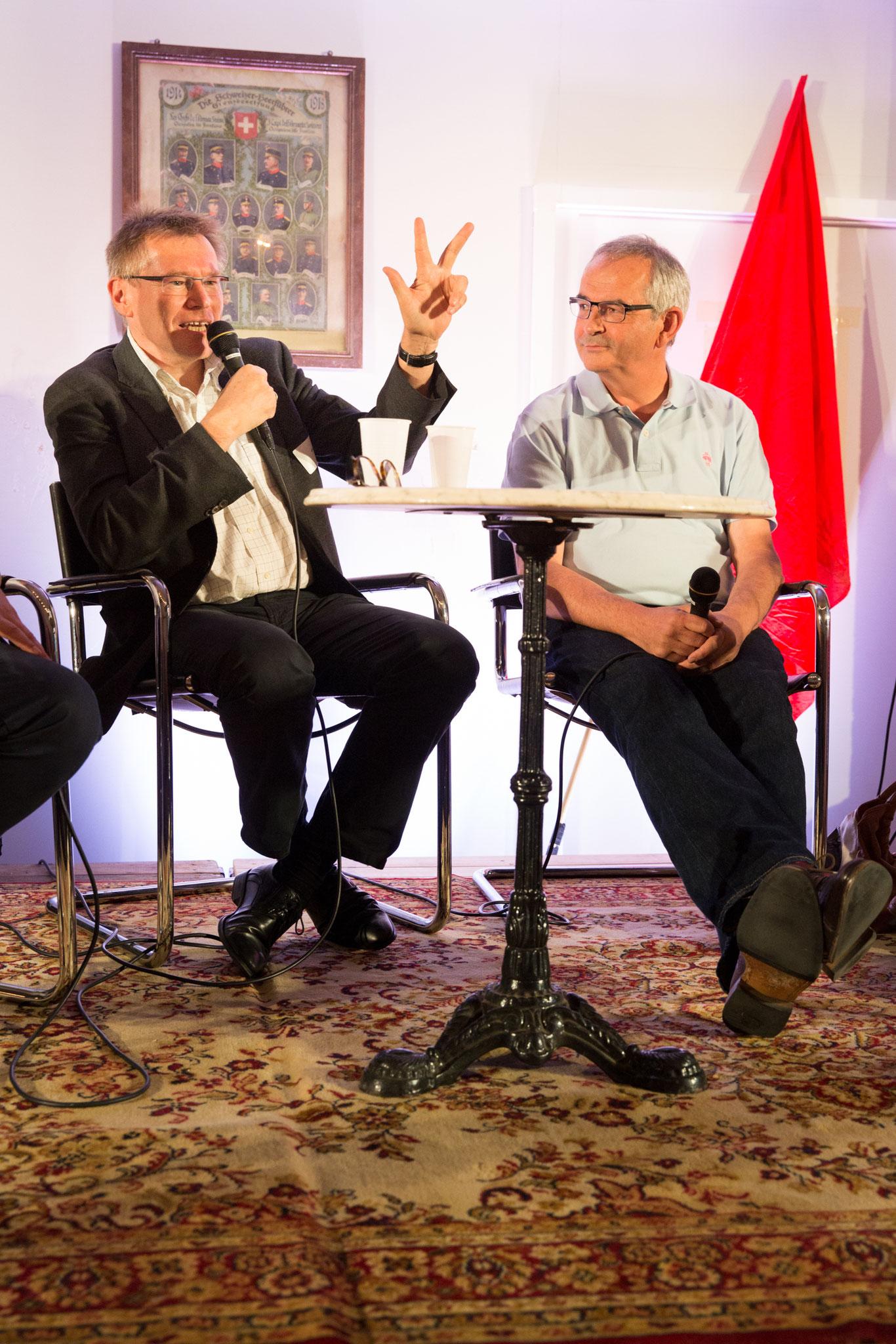 Hartmut Schulze (psychologue du travail, prof. à la HES Olten)