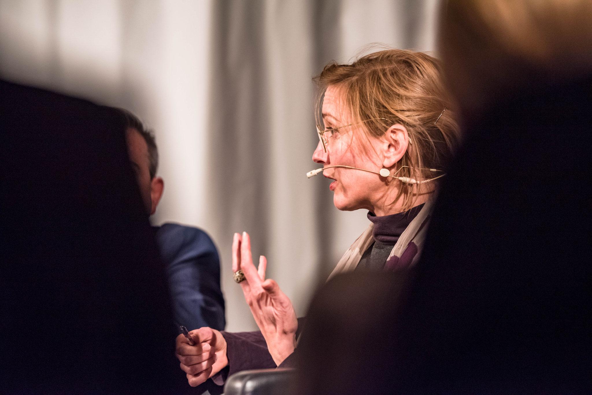 Andrea Zellhuber (Personnes responsable de la prévention de la violence, terre des hommes Suisse)