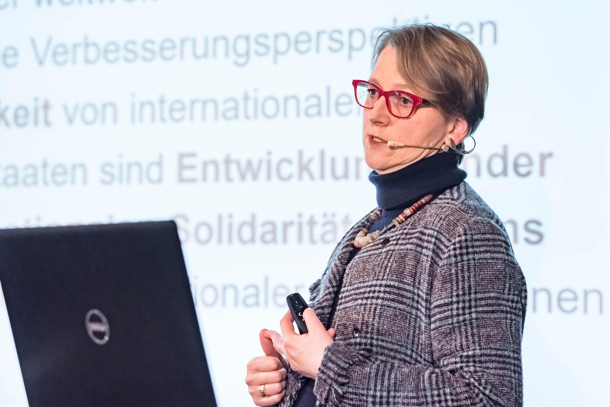 Anja Klug (Leiterin UNHCR-Büro für die Schweiz und Liechtenstein)