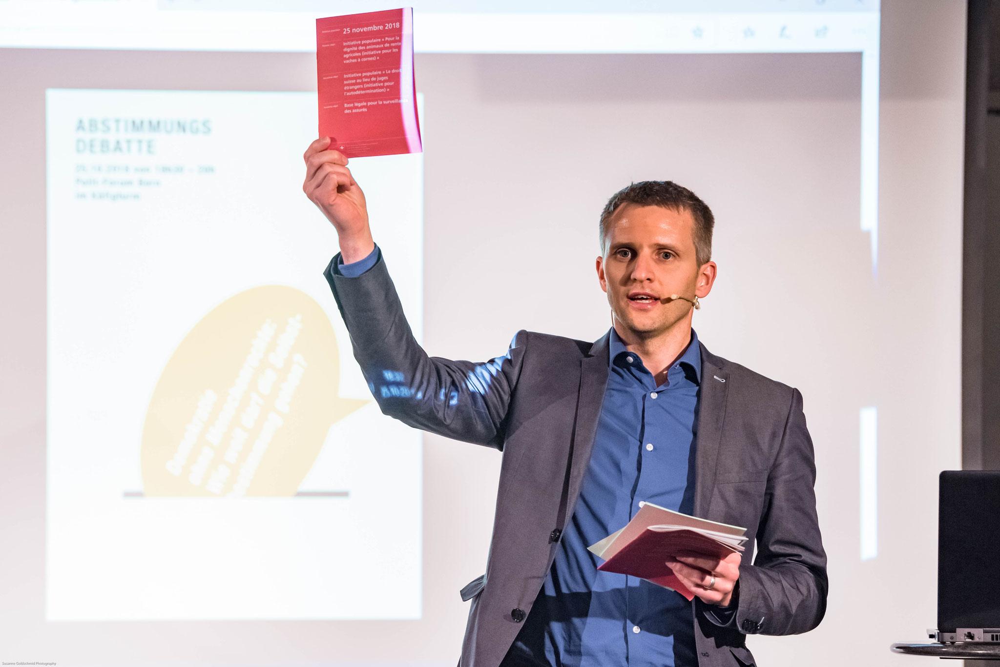 Dr. des. Michael U. Braunschweig (Directeur Fachstelle Reformierte im Dialog)