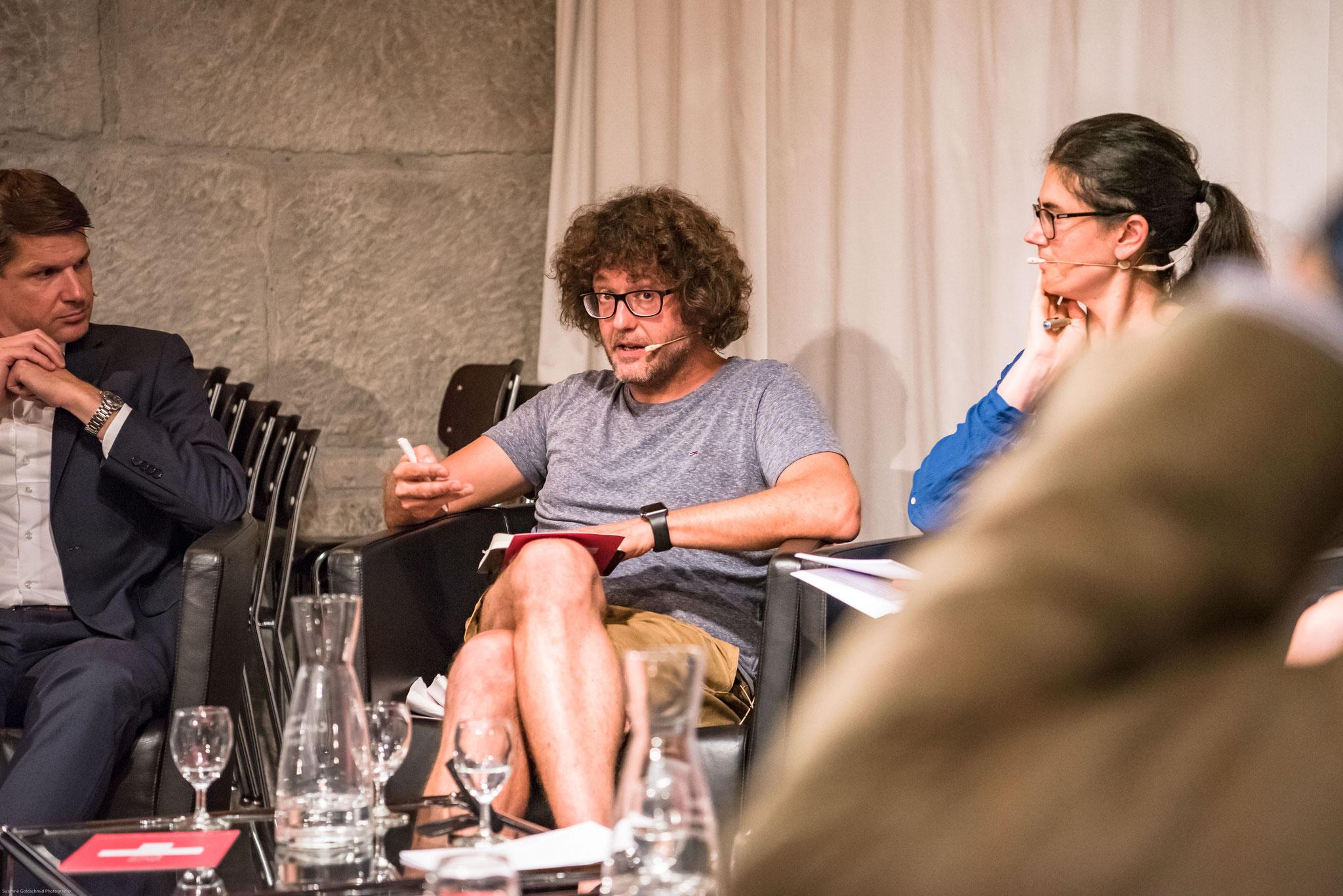 Michael Raeber (fondateur de l'initiative schwizerchrüz.ch)