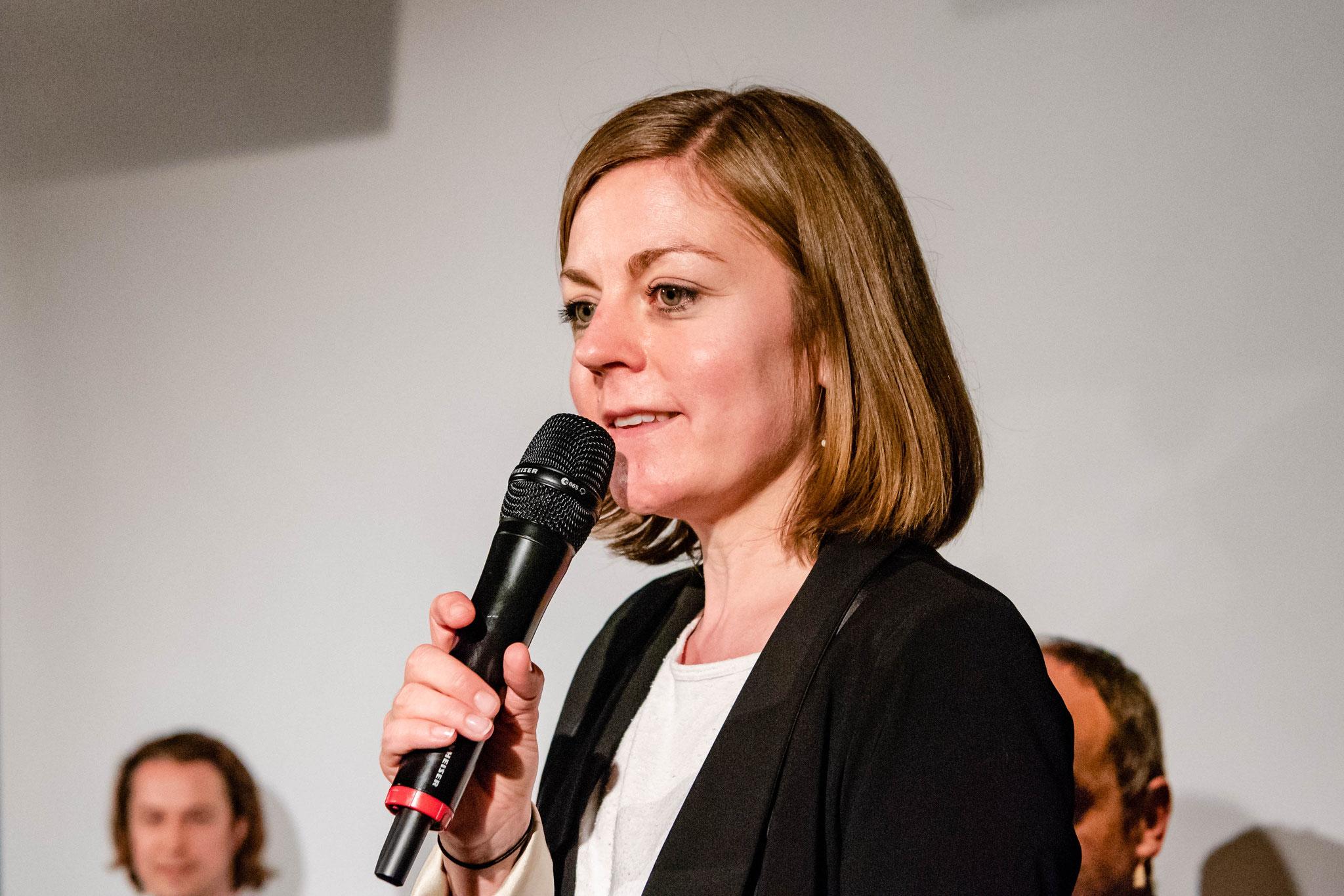 Stefanie Schüpbach (Stellvertrendene Geschäftsführerin Polit-Forum Bern)