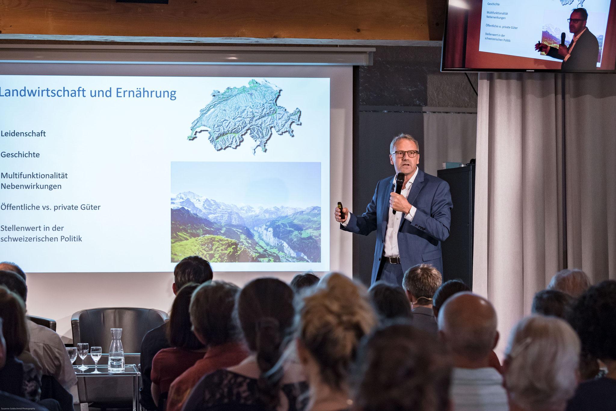 Prof. Markus Fischer (Directeur du Jardin botanique de Berne)