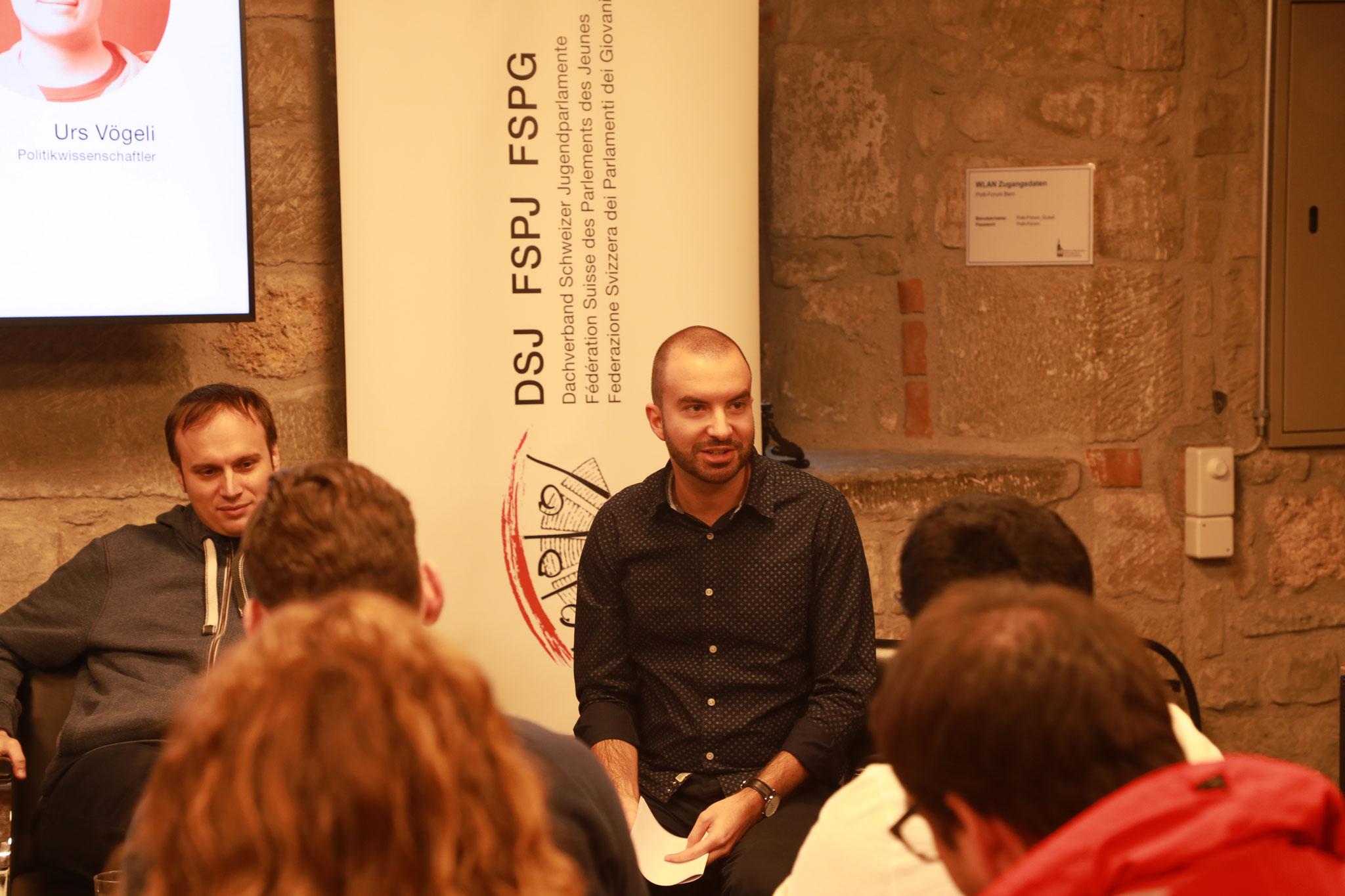 Alessandro Iacono (Verantwortlicher Online-Wahlkampf, SP Schweiz)