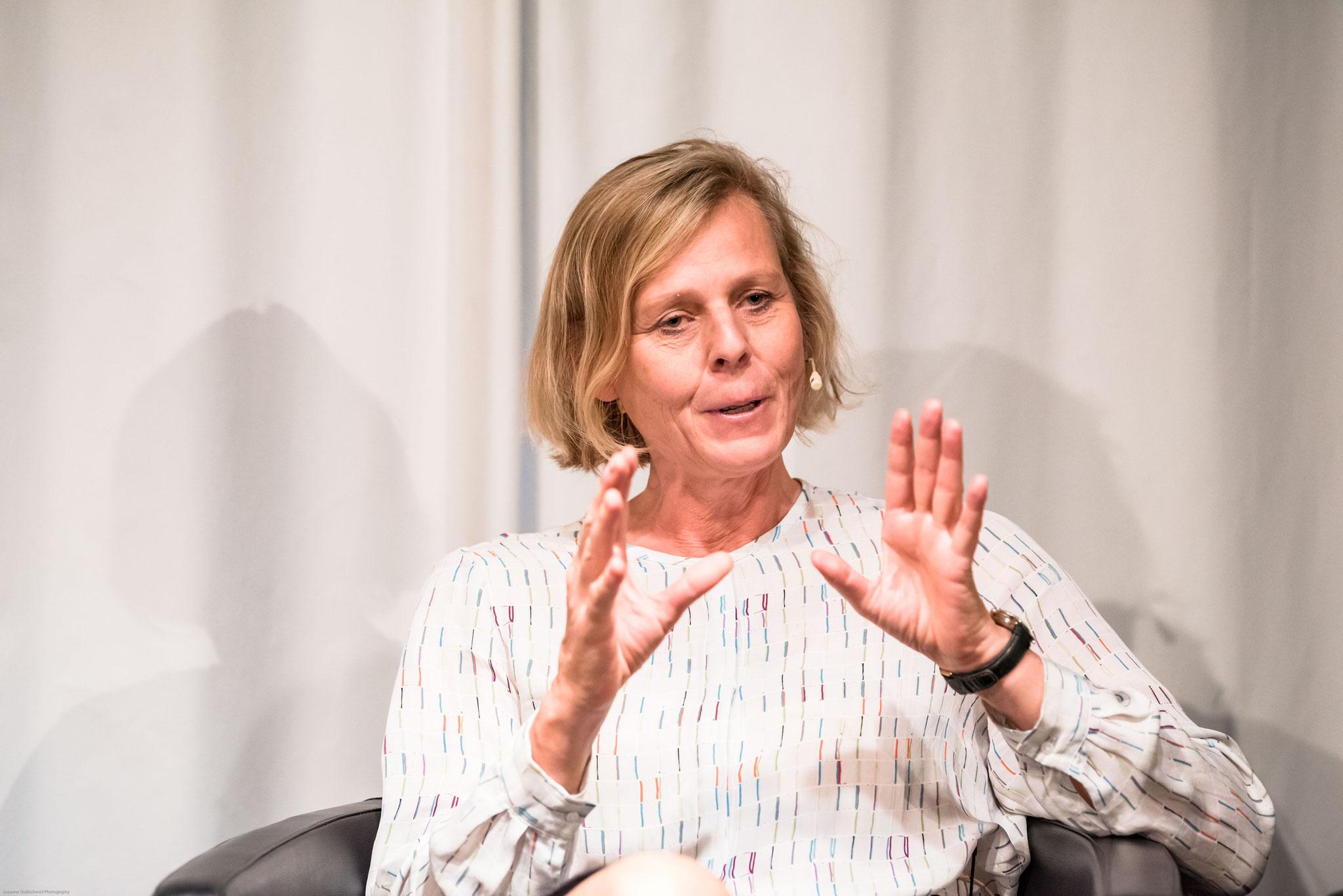 Christine Kopp (vice-présidente de l'association Ziegler-Freiwillige,  directrice suppléante de la CRS)