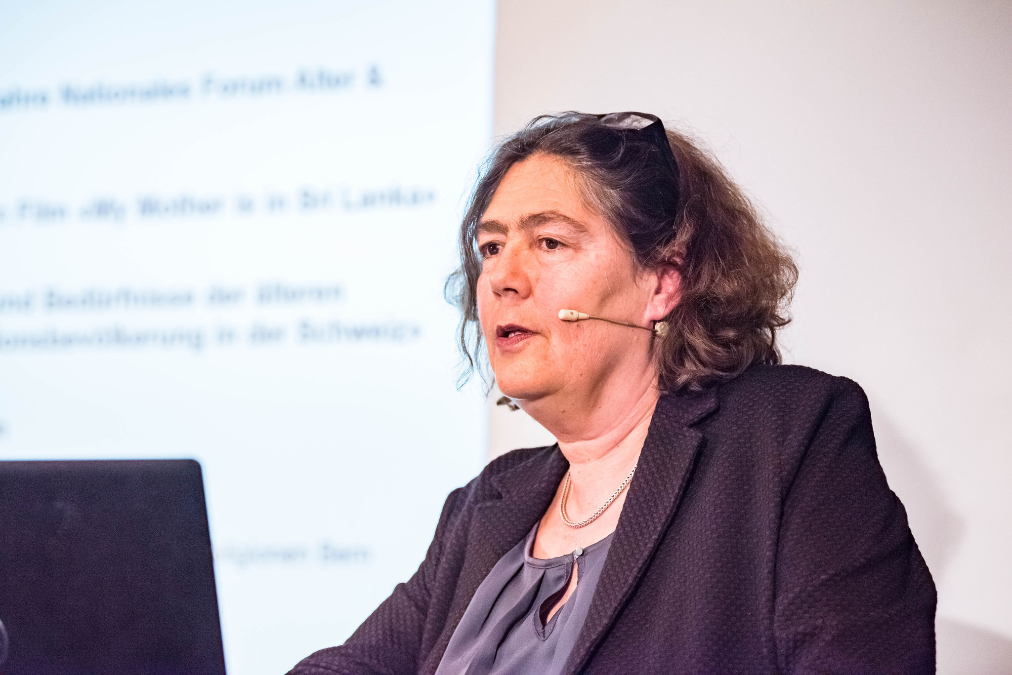 Hildegard Hungerbühler (direction générale du projet à la CRS)