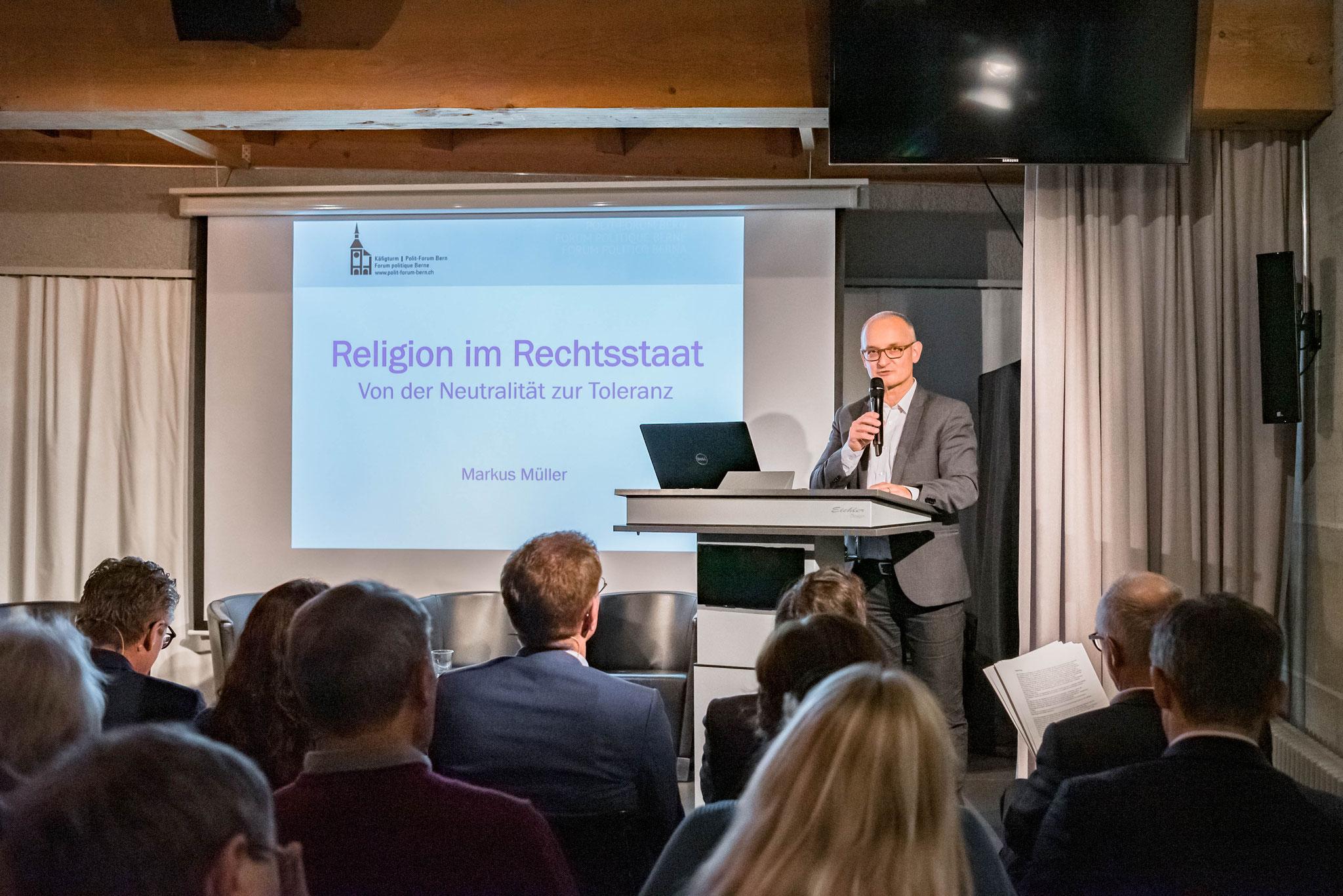 Dr. André Flury (responsable du service «Kirche im Dialog»)