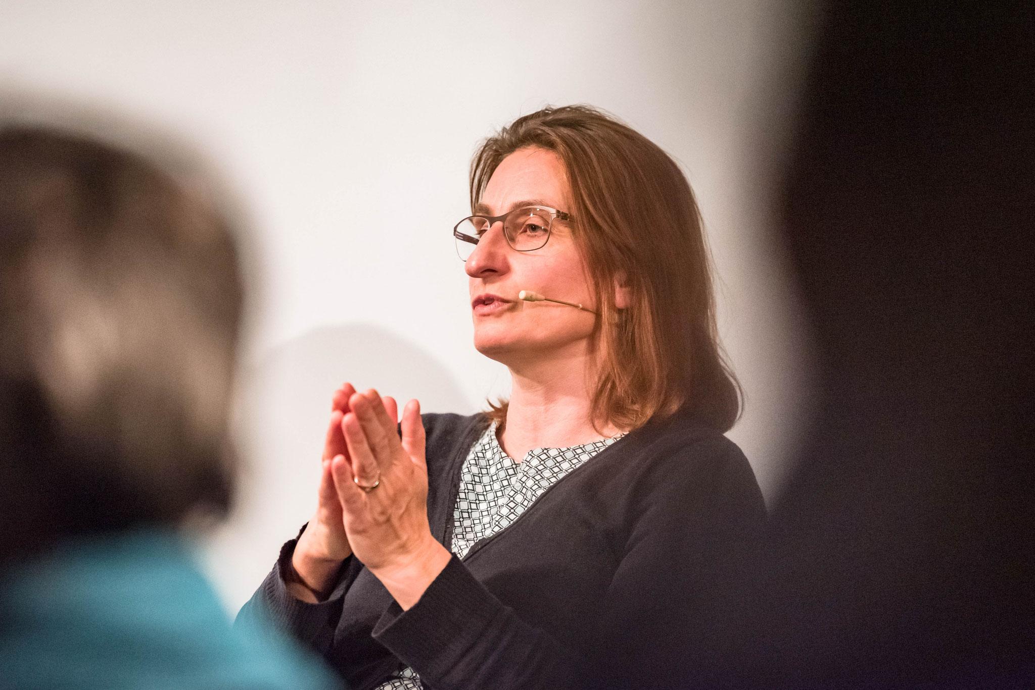 Sibylle Stolz Niederberger (Leiterin Quartiere und Integration de la ville de Lucerne)