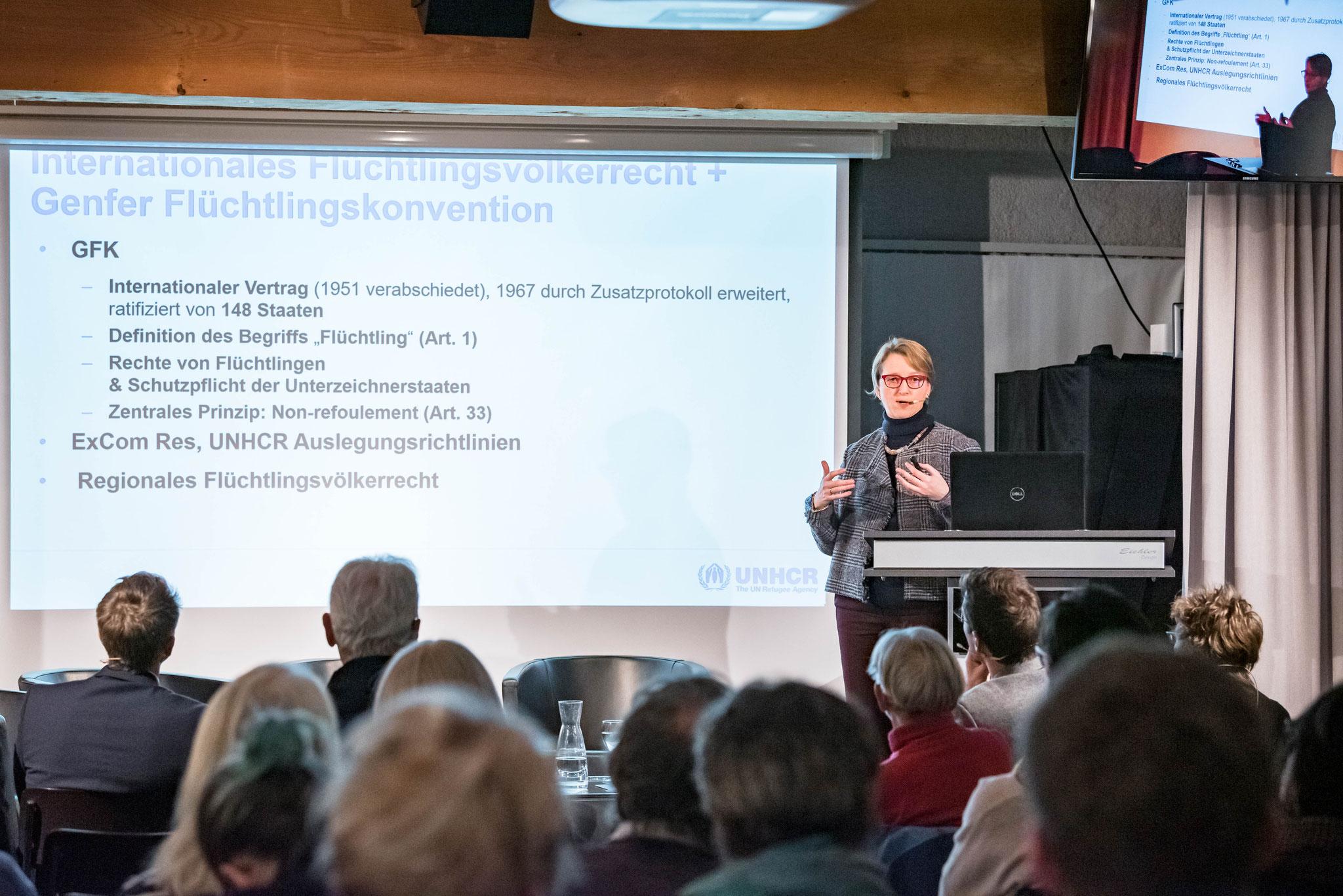 Anja Klug (chef du bureau du HCR pour la Suisse et le Liechtenstein)