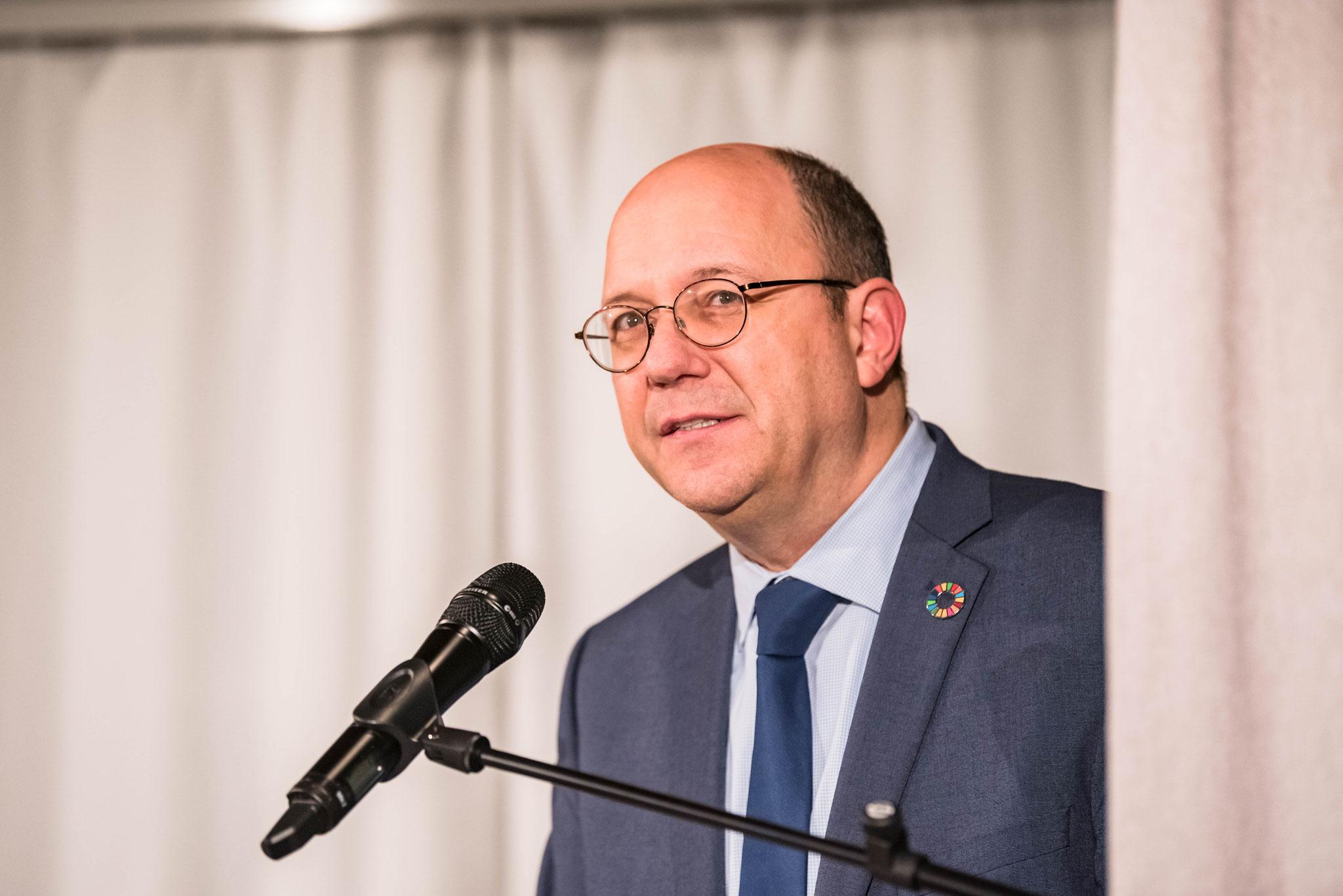 Thomas Gass (Vice-directeur de la Direction du développement et de la coopération)