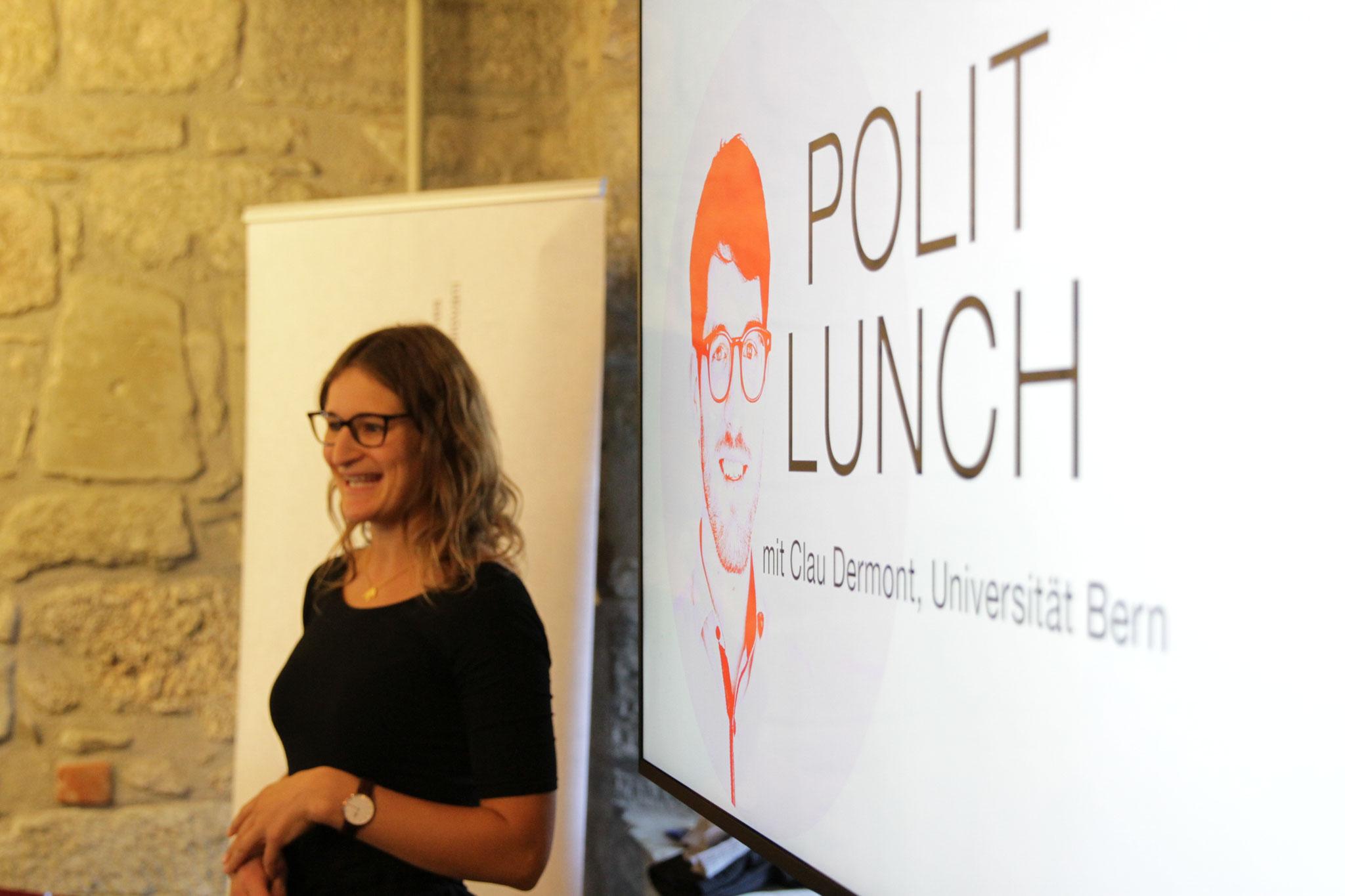 Magdalena Waeber (Polit-Forum Bern)