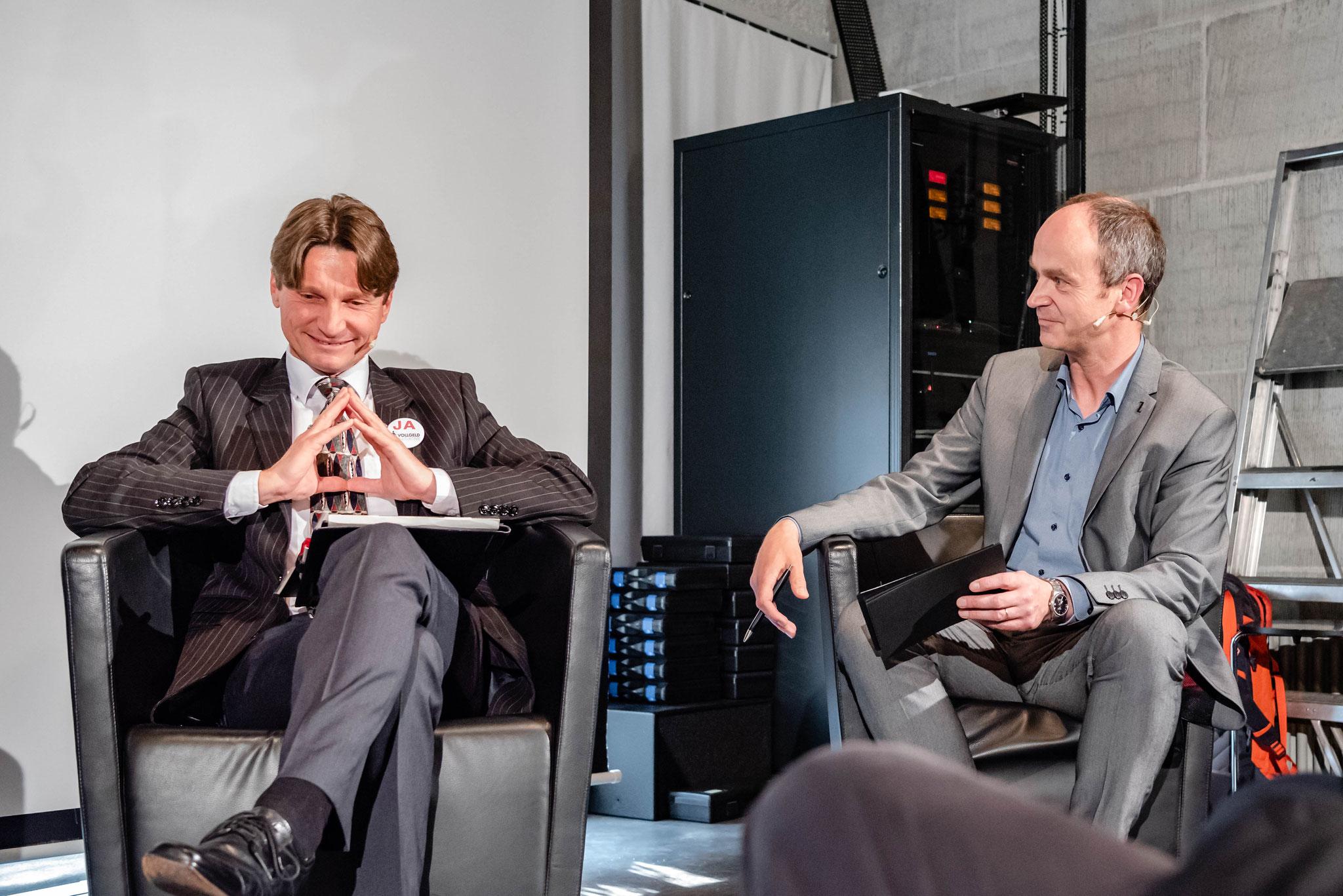 Martin Alder (économiste, membre du comité directeur de l'initiative «Monnaie pleine»)