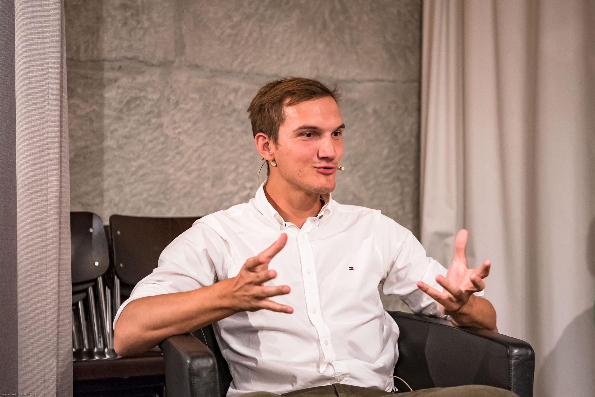 Philippe Matthys (Präsident Junge Burgergemeinde Bern)