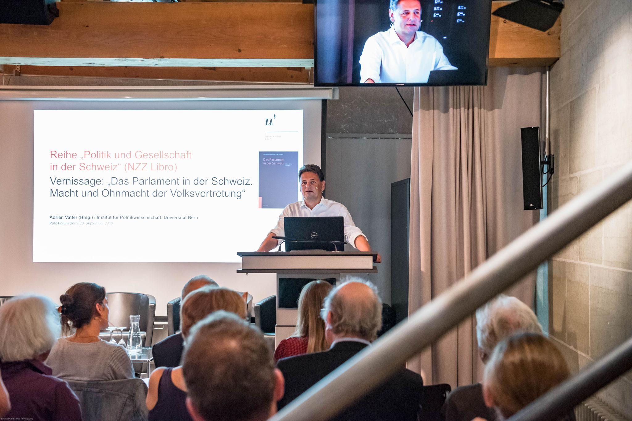 Prof. Dr. Adrian Vatter (Universität Bern, Buchherausgeber)