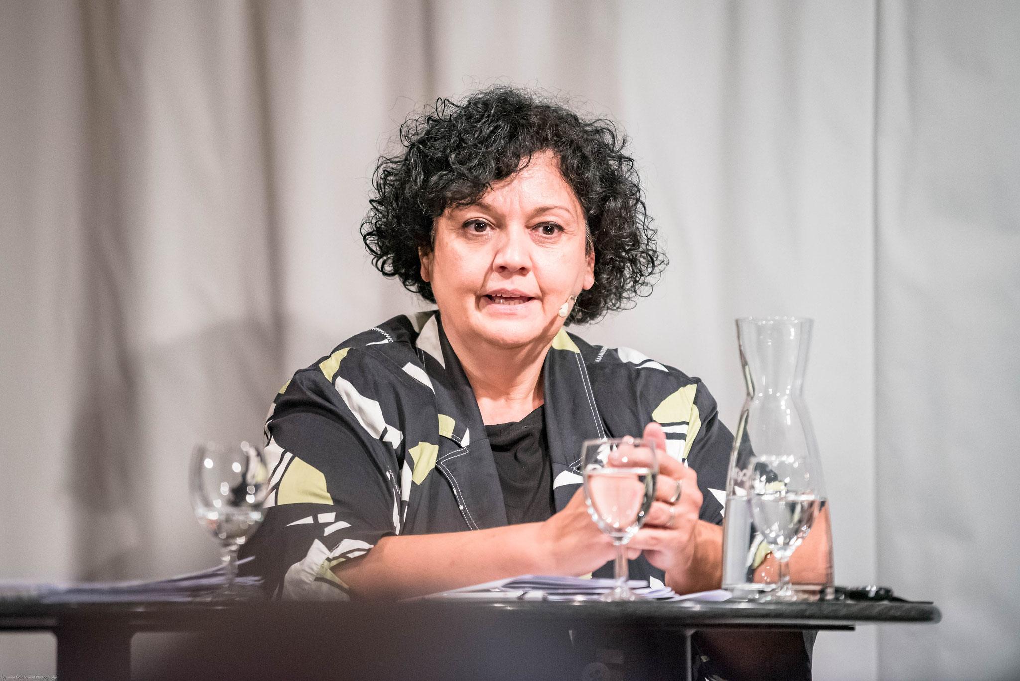 Dr. Aliki Panayides (Geschäftsführerin SVP Kanton BE)