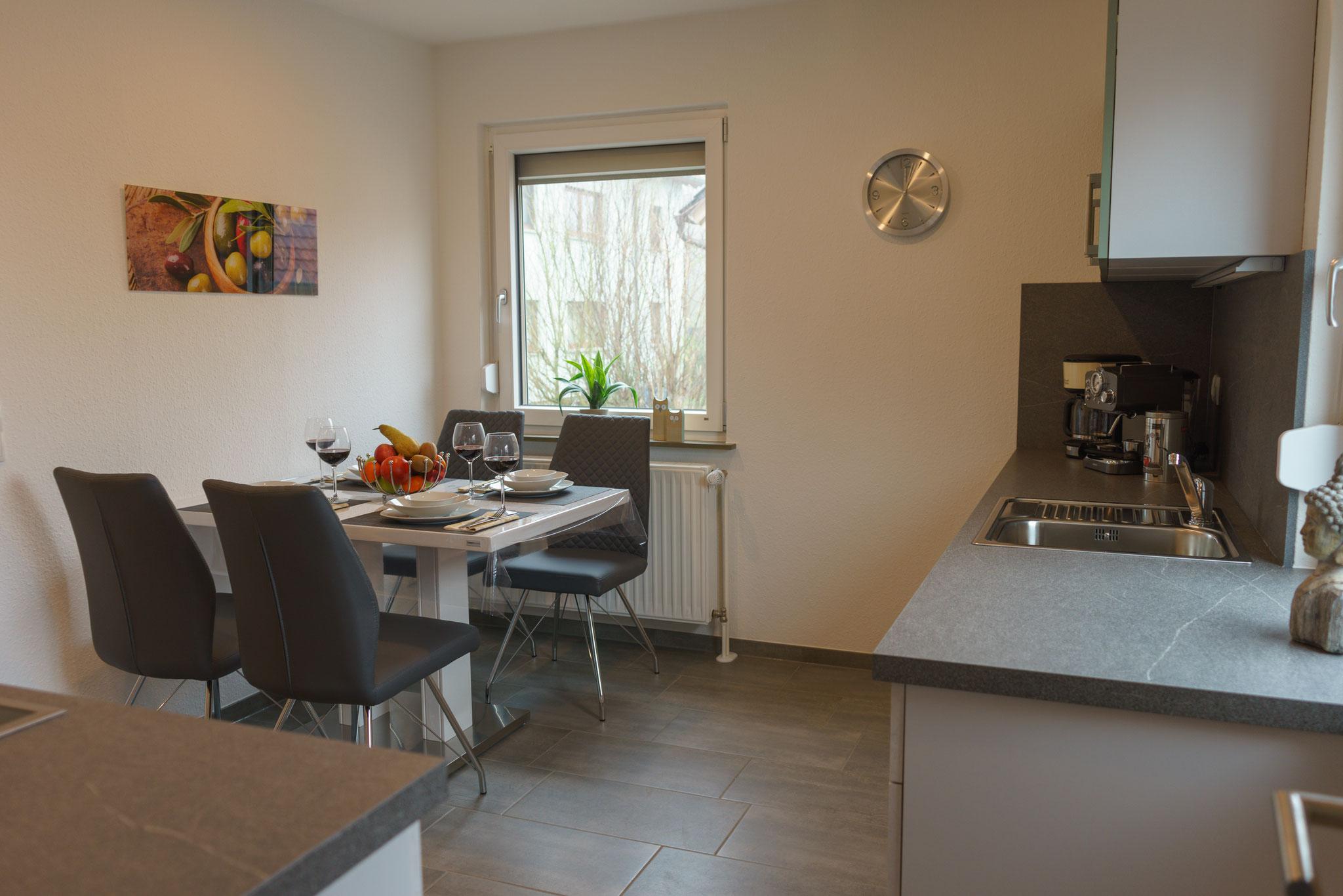 Küche / Esszimmer im Fuchsbau 2