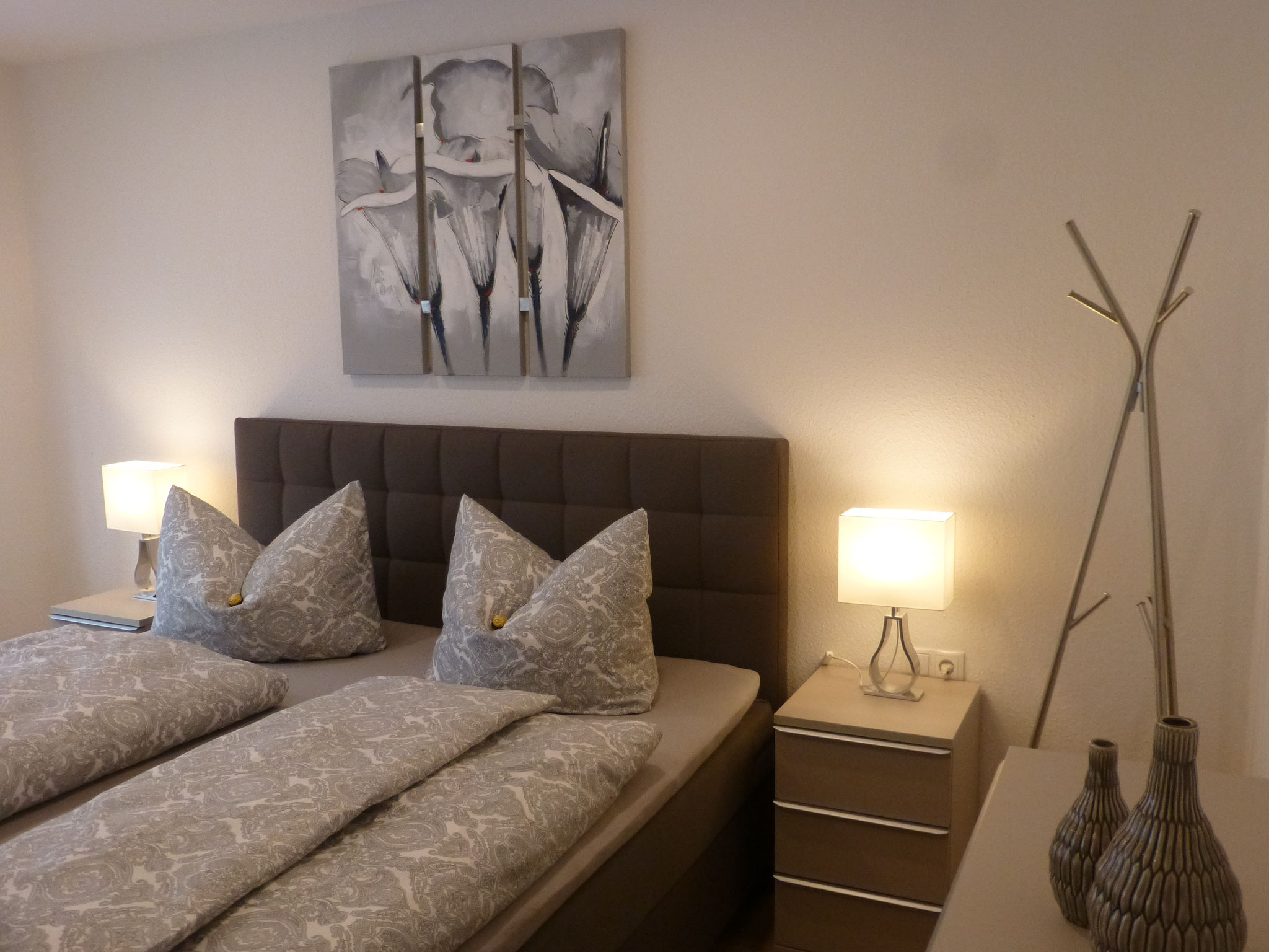 Schlafzimmer im Fuchsbau 1